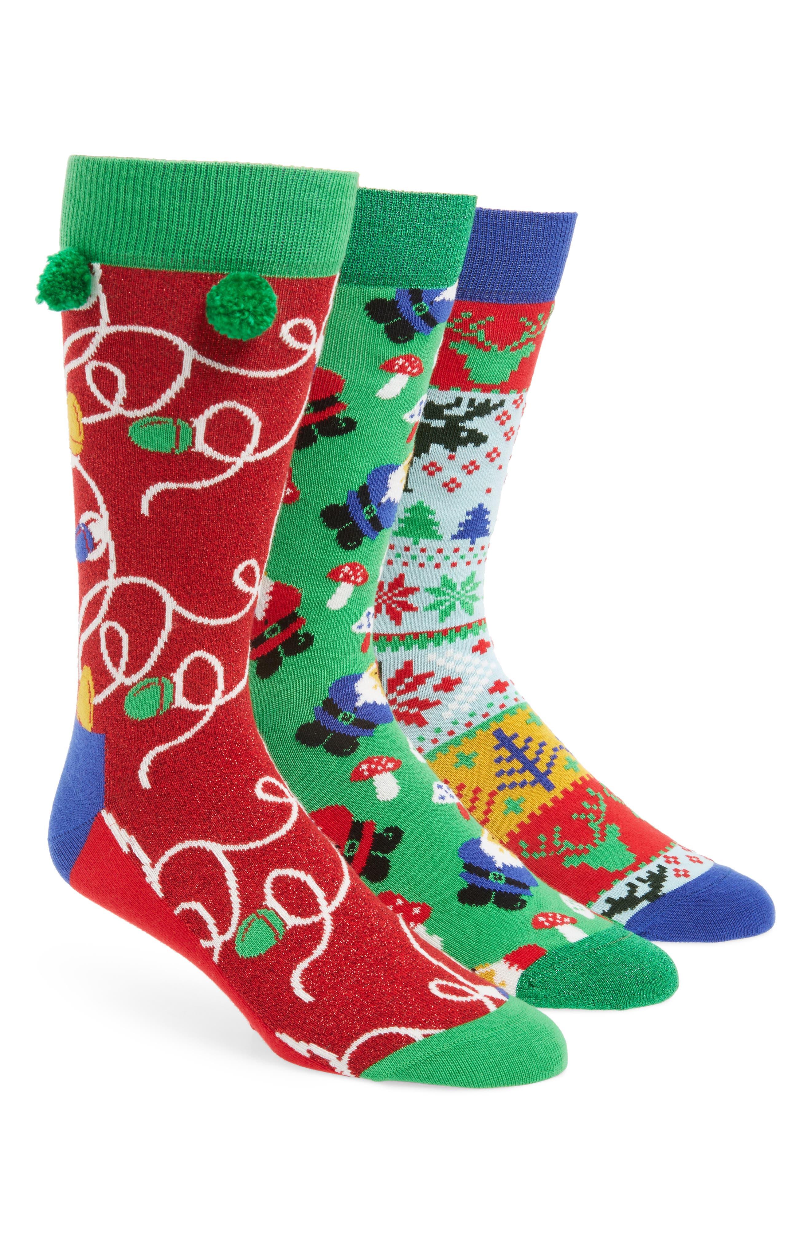 Holiday 3-Pack Socks Boxed Set,                             Main thumbnail 1, color,                             312
