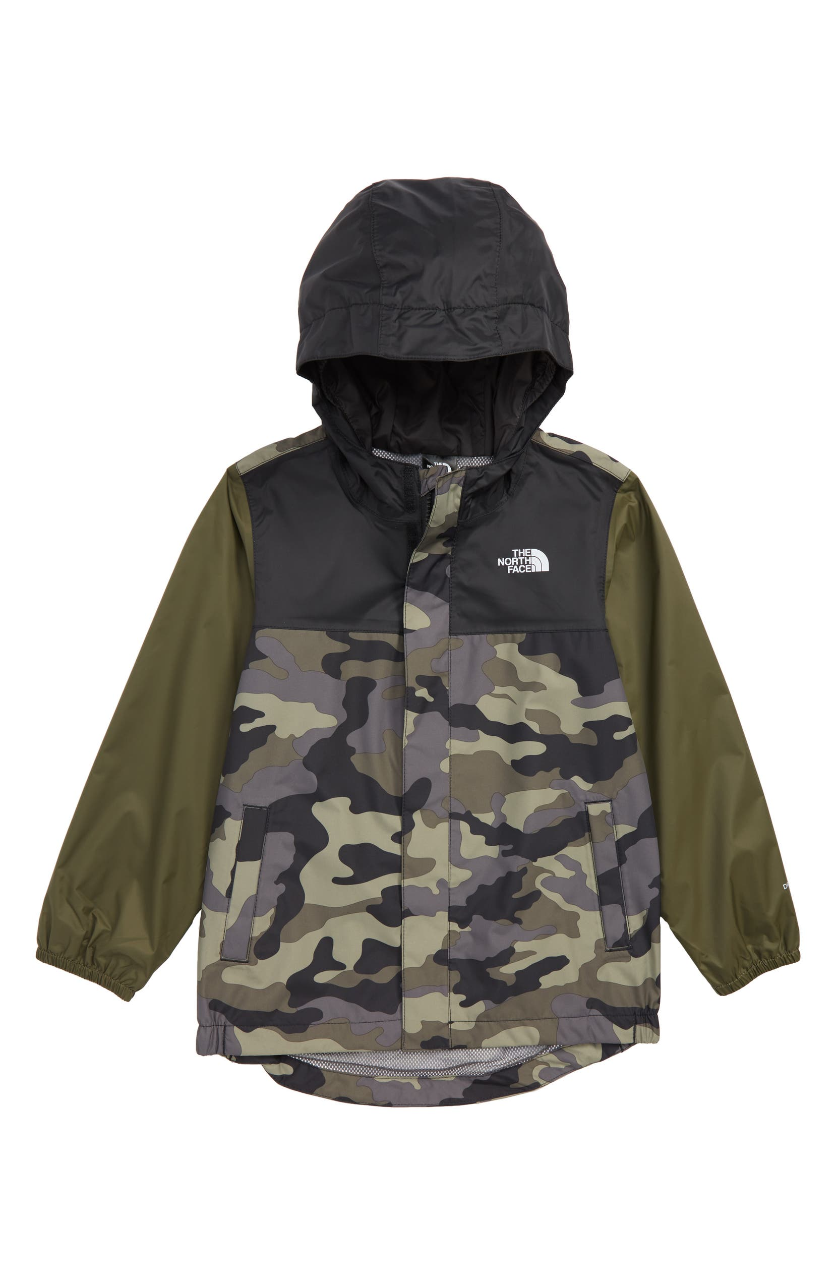 eac225494a3aa The North Face Tailout Hooded Rain Jacket (Toddler Boys   Little Boys)