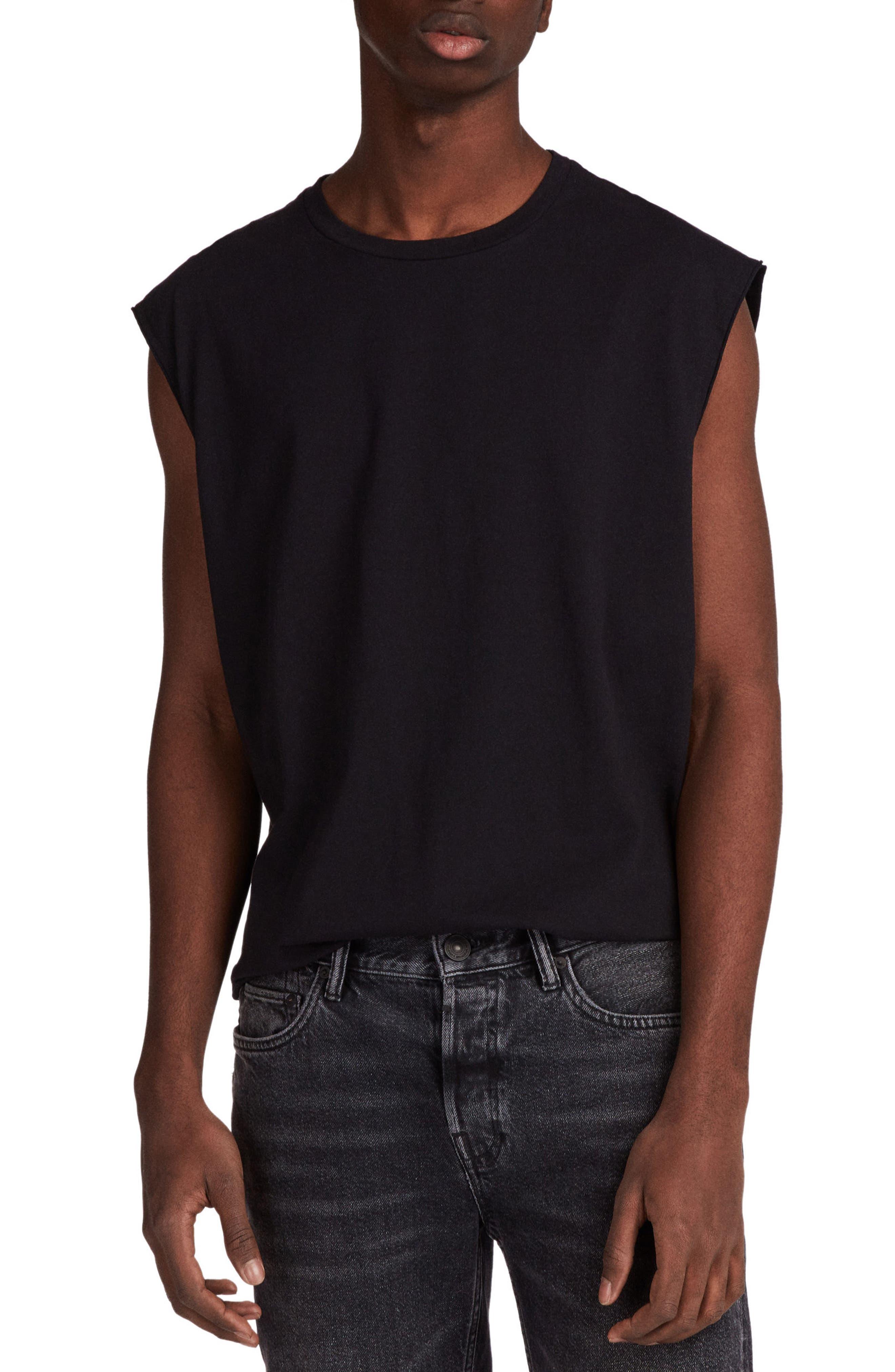 Heton Sleeveless T-Shirt,                             Main thumbnail 1, color,                             001