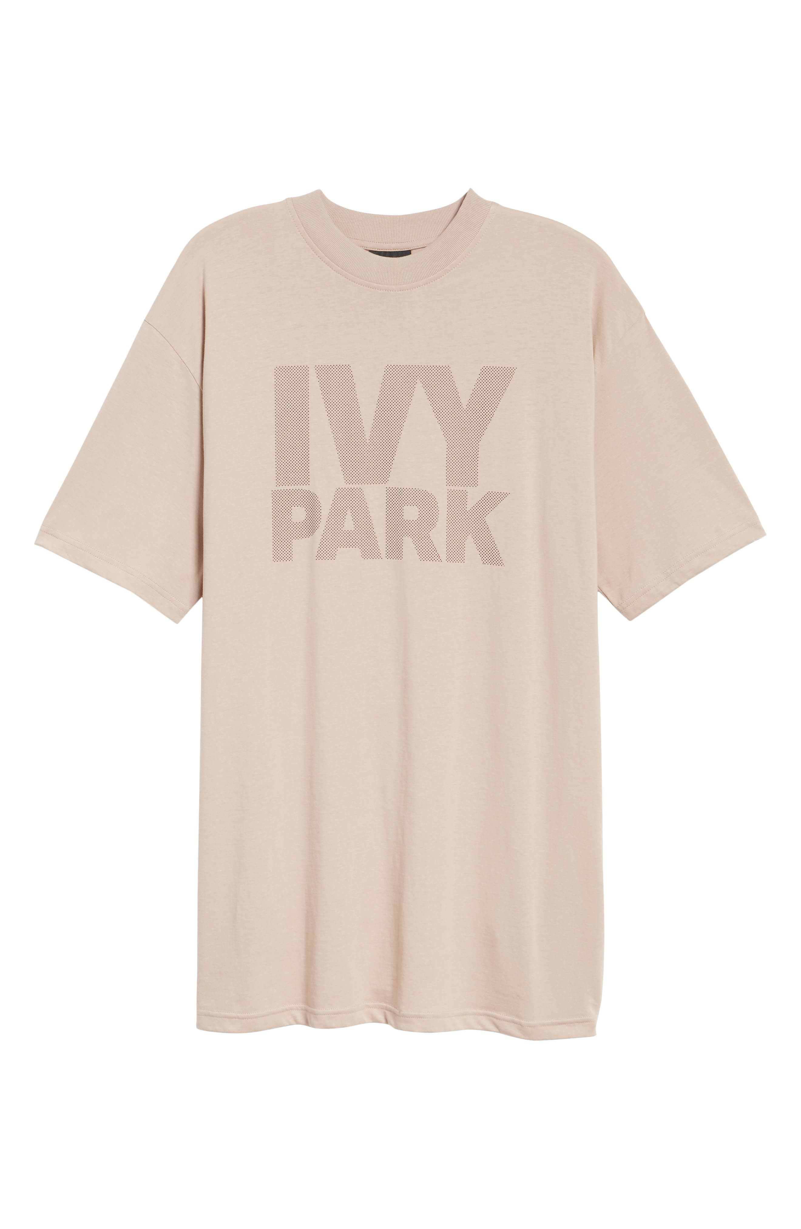 Dotted Logo Oversized Tee,                             Alternate thumbnail 18, color,