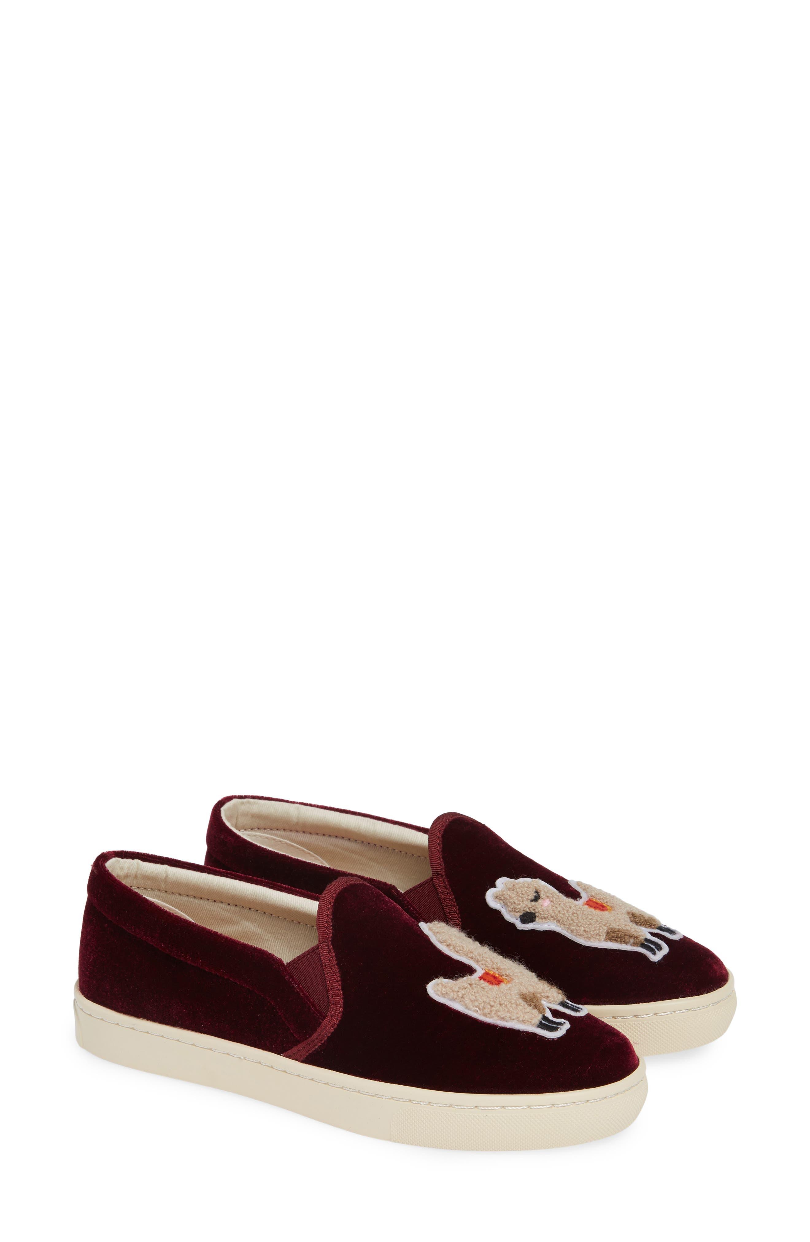 Velvet Llama Sneaker,                             Main thumbnail 1, color,                             931