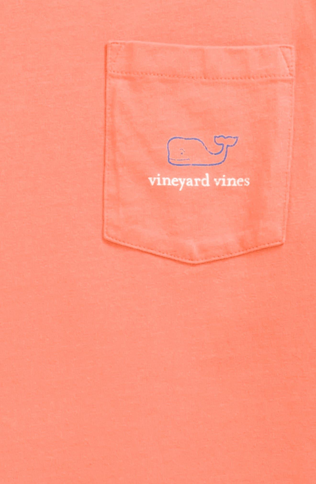 Vintage Whale Long Sleeve Pocket T-Shirt,                             Alternate thumbnail 19, color,
