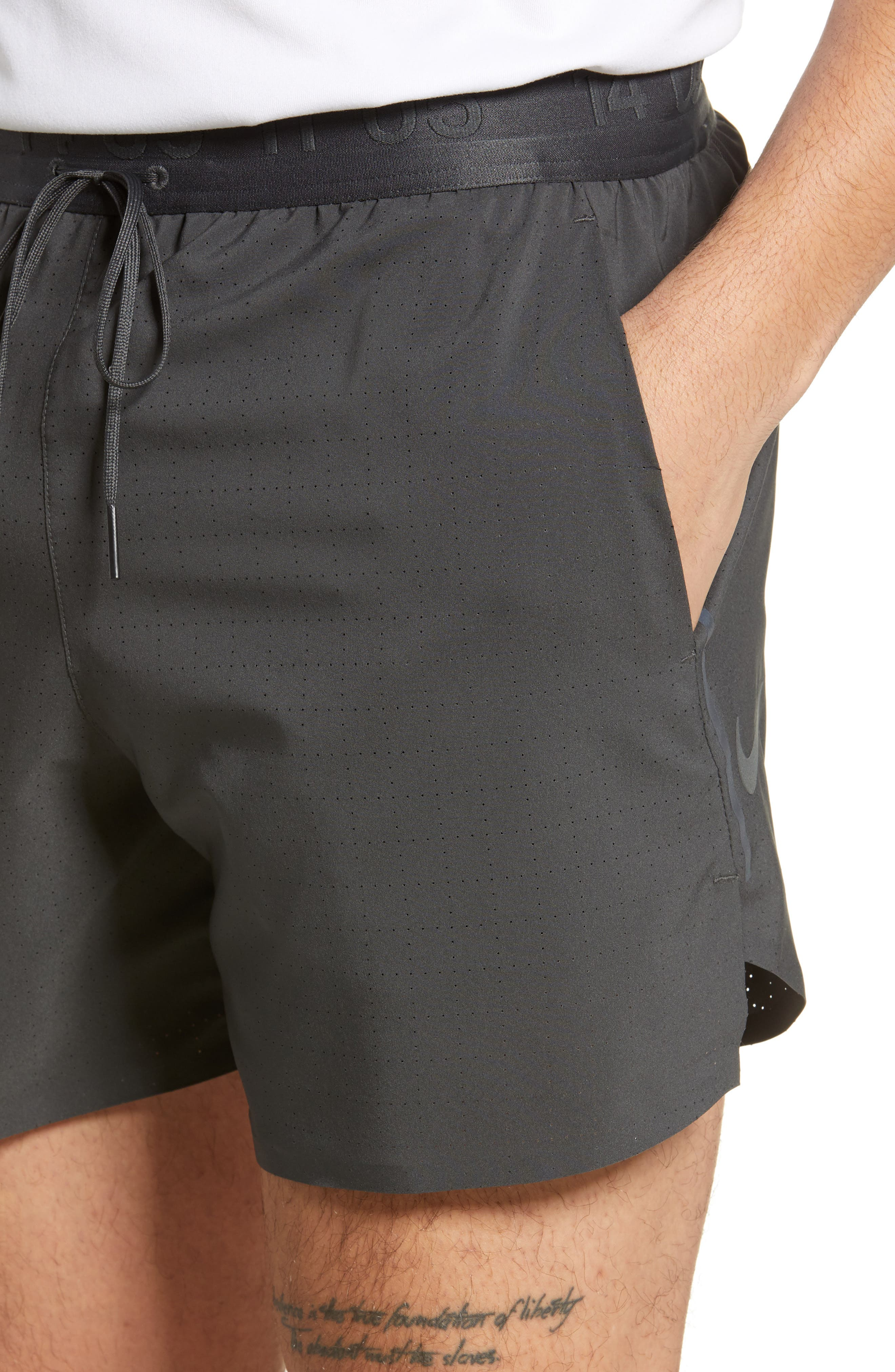 Running Shorts,                             Alternate thumbnail 4, color,                             ANTHRACITE/ ANTHRACITE