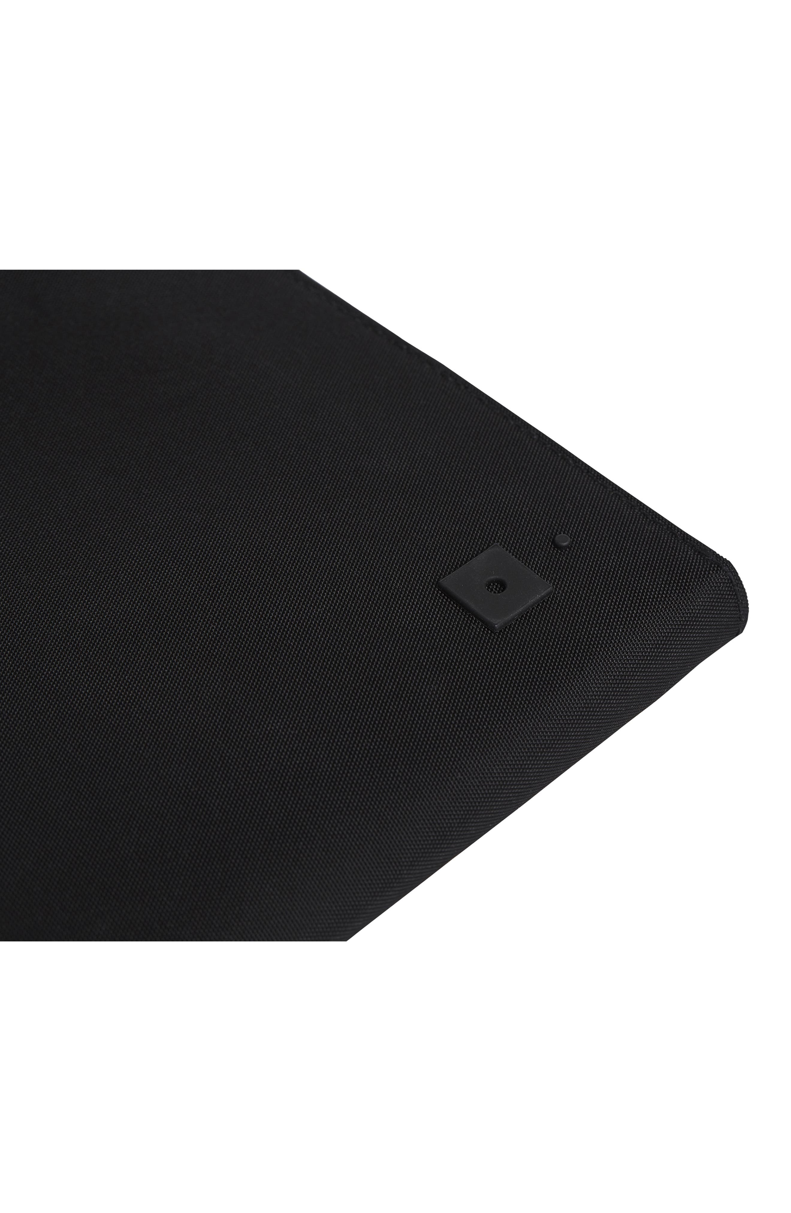 Portfolio Case,                             Alternate thumbnail 9, color,                             BLACK NYLON/ BLACK LEATHER
