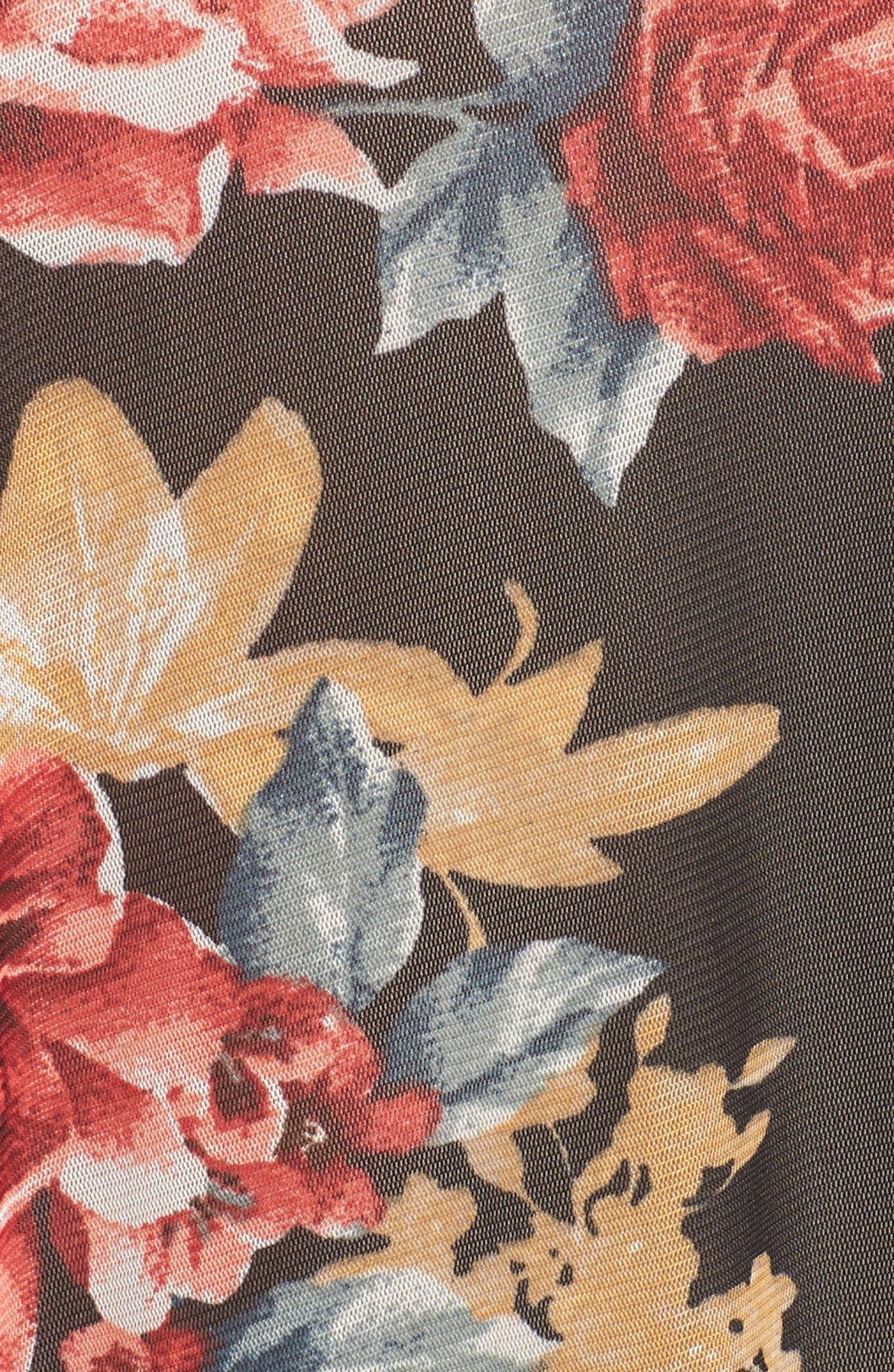 Floral Kimono,                             Alternate thumbnail 7, color,                             001