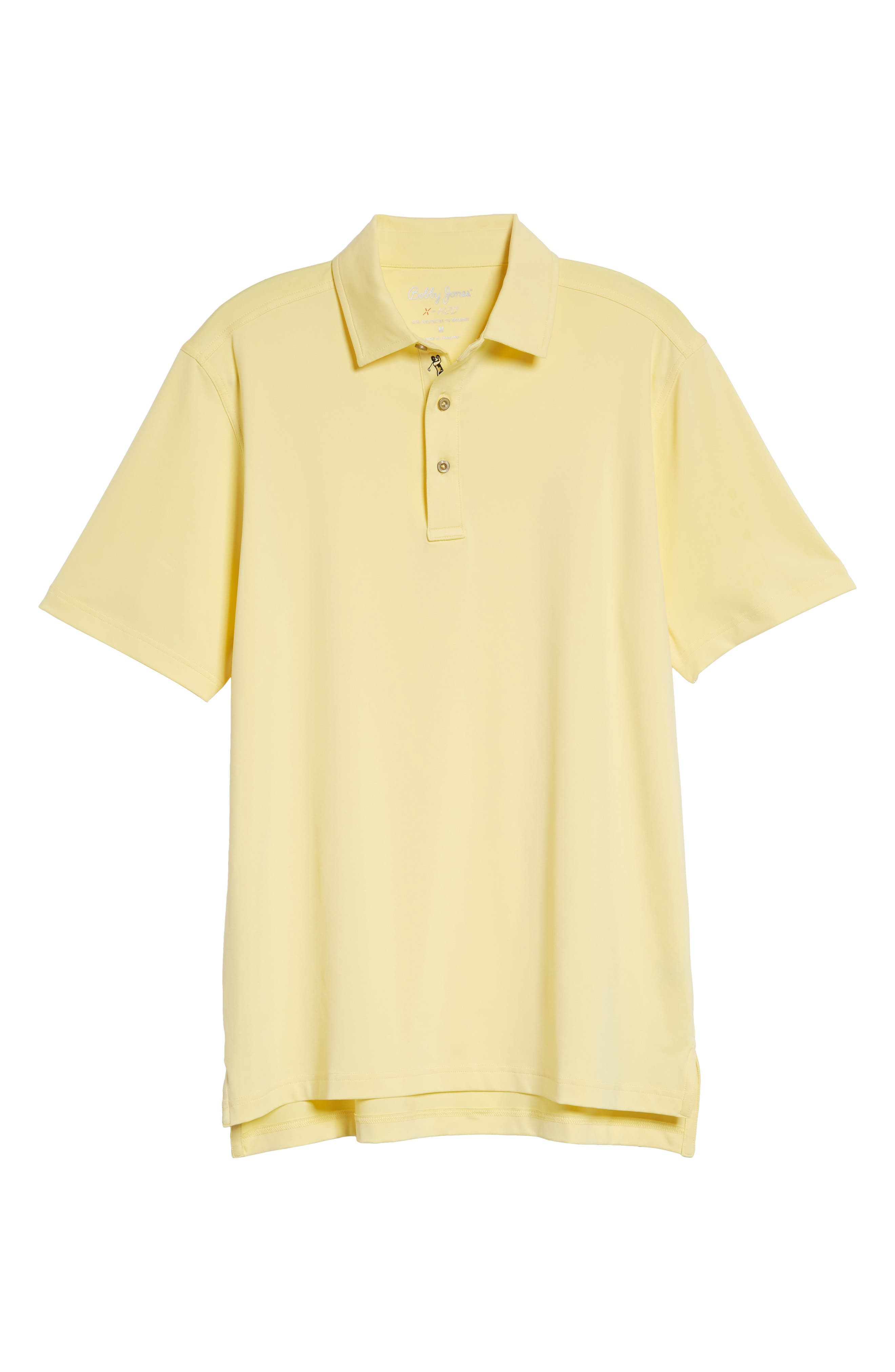 XH20 Regular Fit Stretch Golf Polo,                             Alternate thumbnail 6, color,                             CANARY
