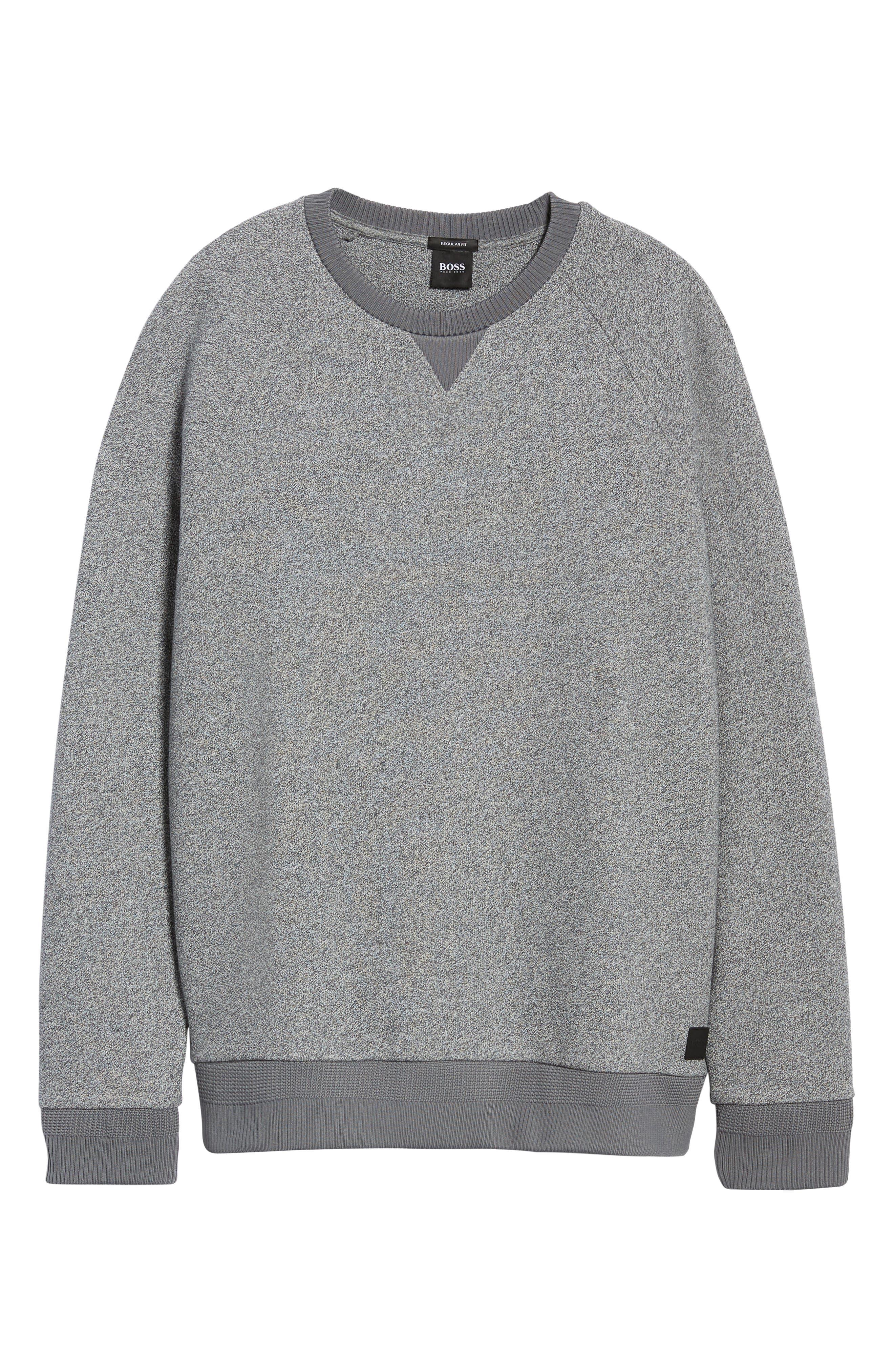 Stadler Denimic Regular Fit Sweatshirt,                             Alternate thumbnail 6, color,                             GREY