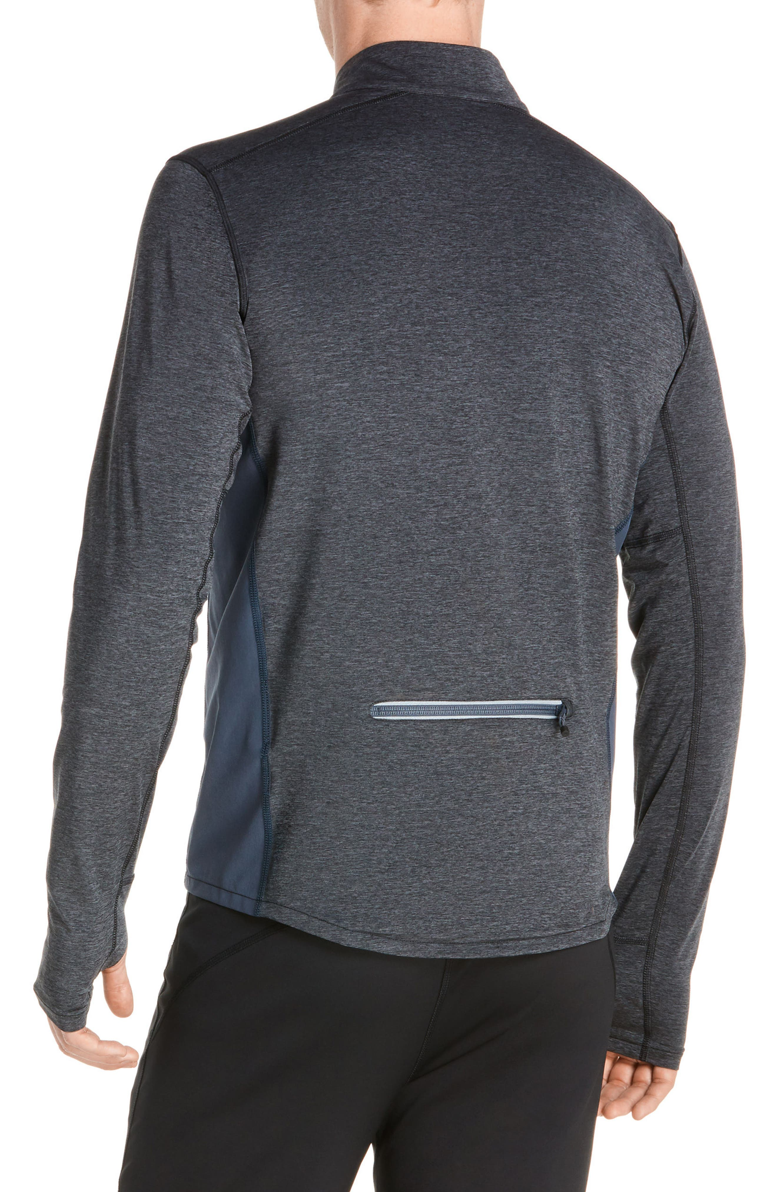 Brushed Tech Jacket,                             Alternate thumbnail 3, color,                             062