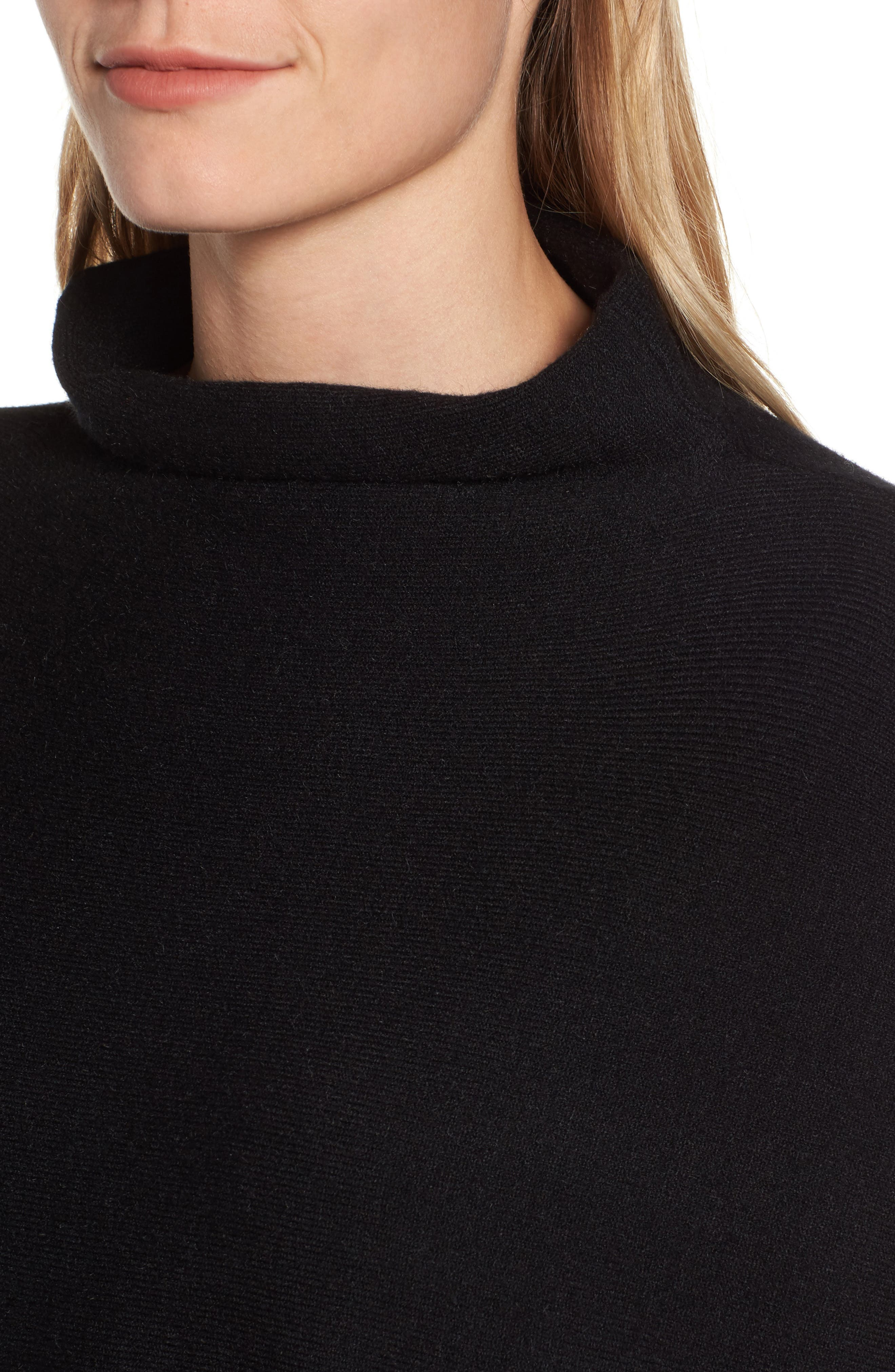 RD Style Boxy Pocket Sweater,                             Alternate thumbnail 4, color,                             001