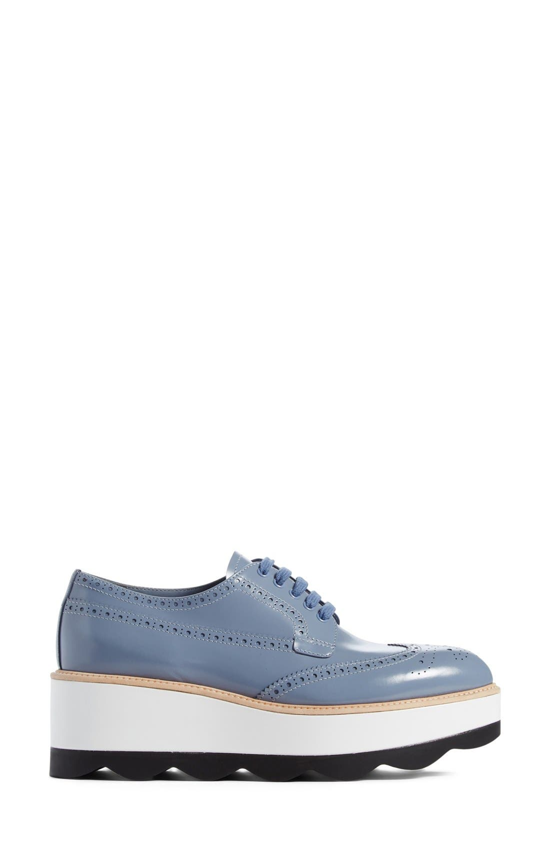 Scalloped Platform Oxford,                             Alternate thumbnail 38, color,