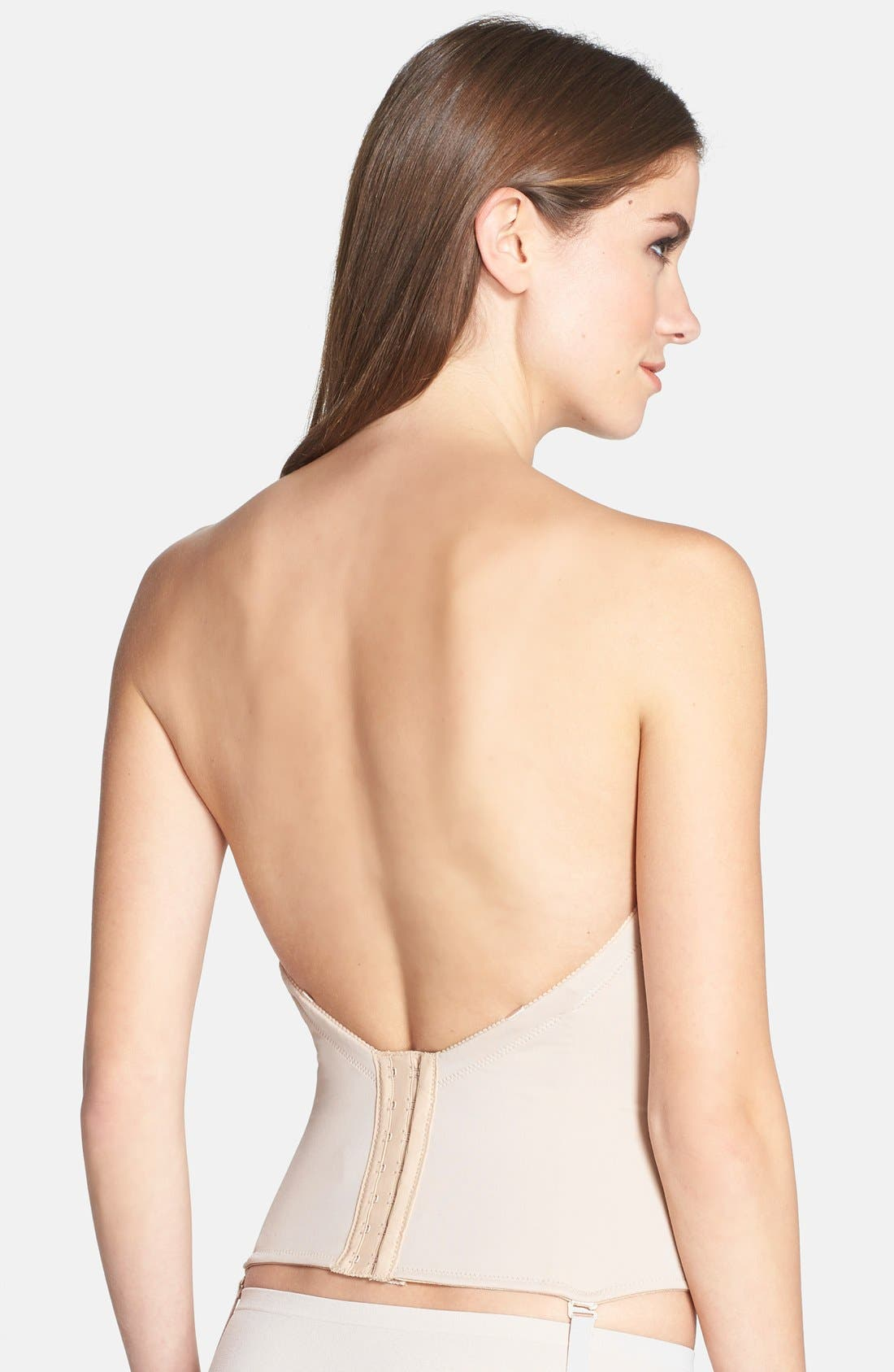 Ultra-Lift Low Back Bustier,                             Alternate thumbnail 7, color,                             261