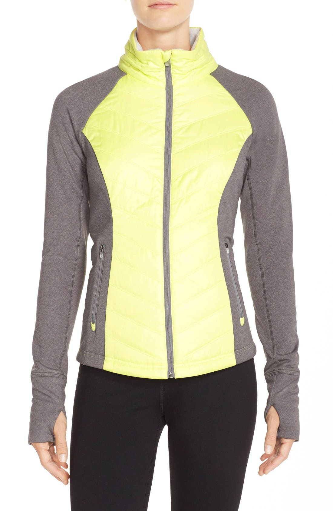Zelfusion Reflective Quilted Jacket,                             Main thumbnail 9, color,