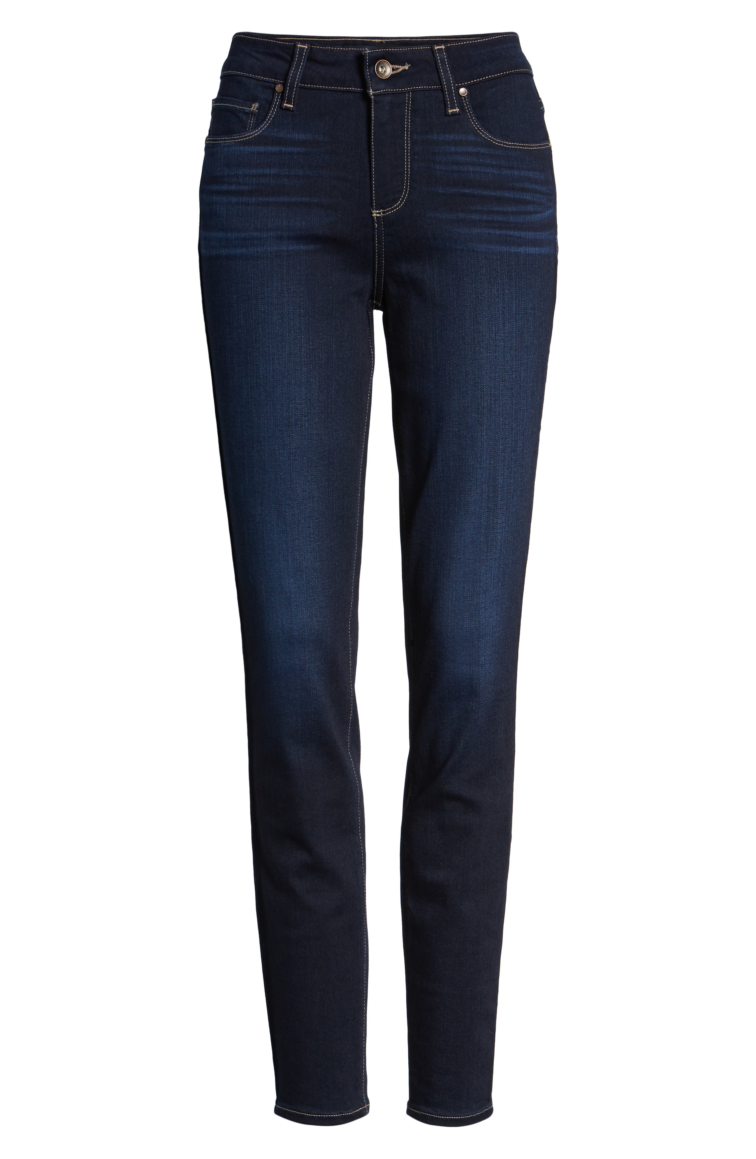 PAIGE,                             Transcend - Verdugo Ultra Skinny Jeans,                             Alternate thumbnail 6, color,                             ACADIA