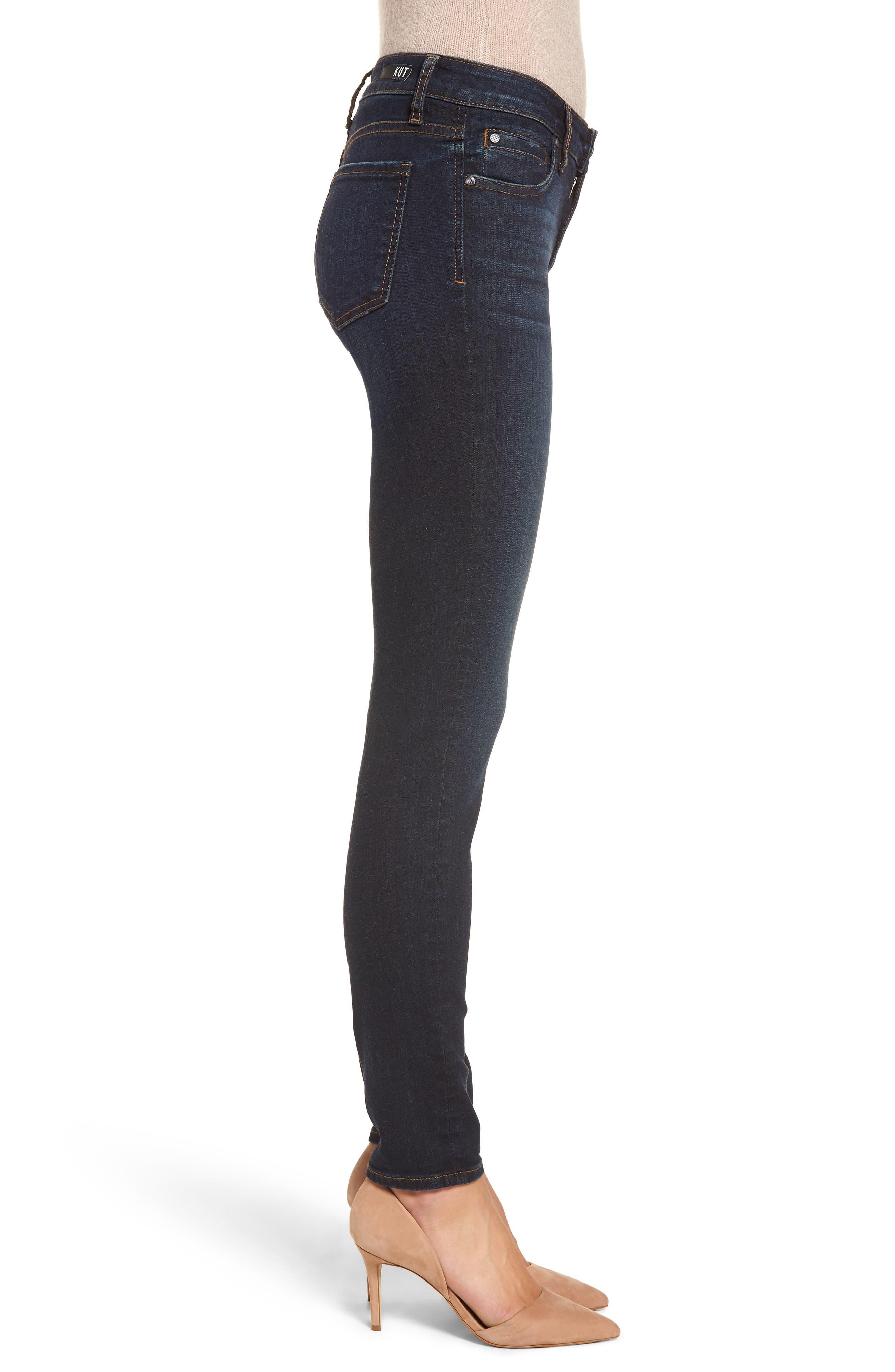Diana Skinny Jeans,                             Alternate thumbnail 3, color,                             435