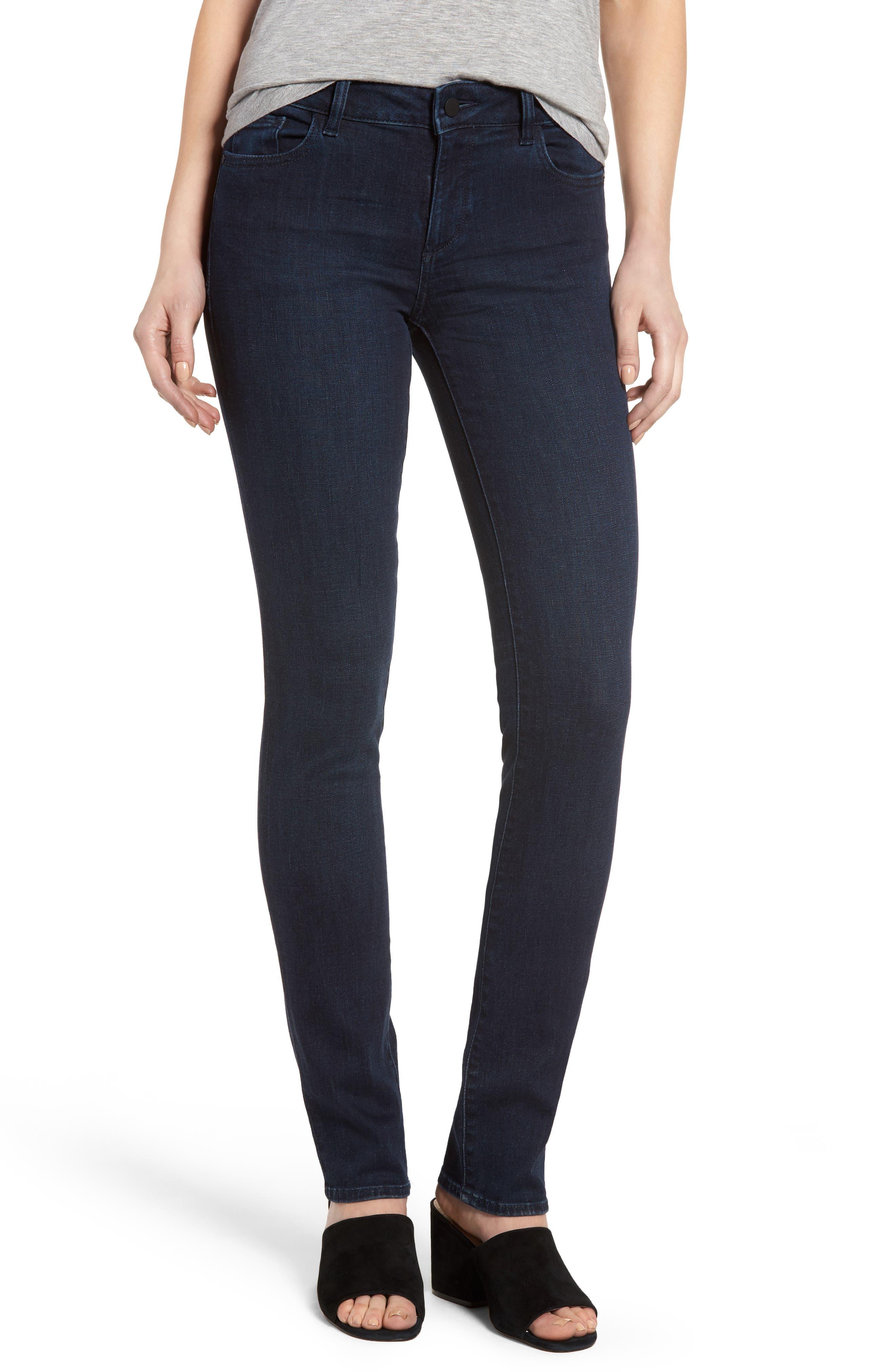 Mara Instasculpt Straight Leg Jeans, Main, color, 405