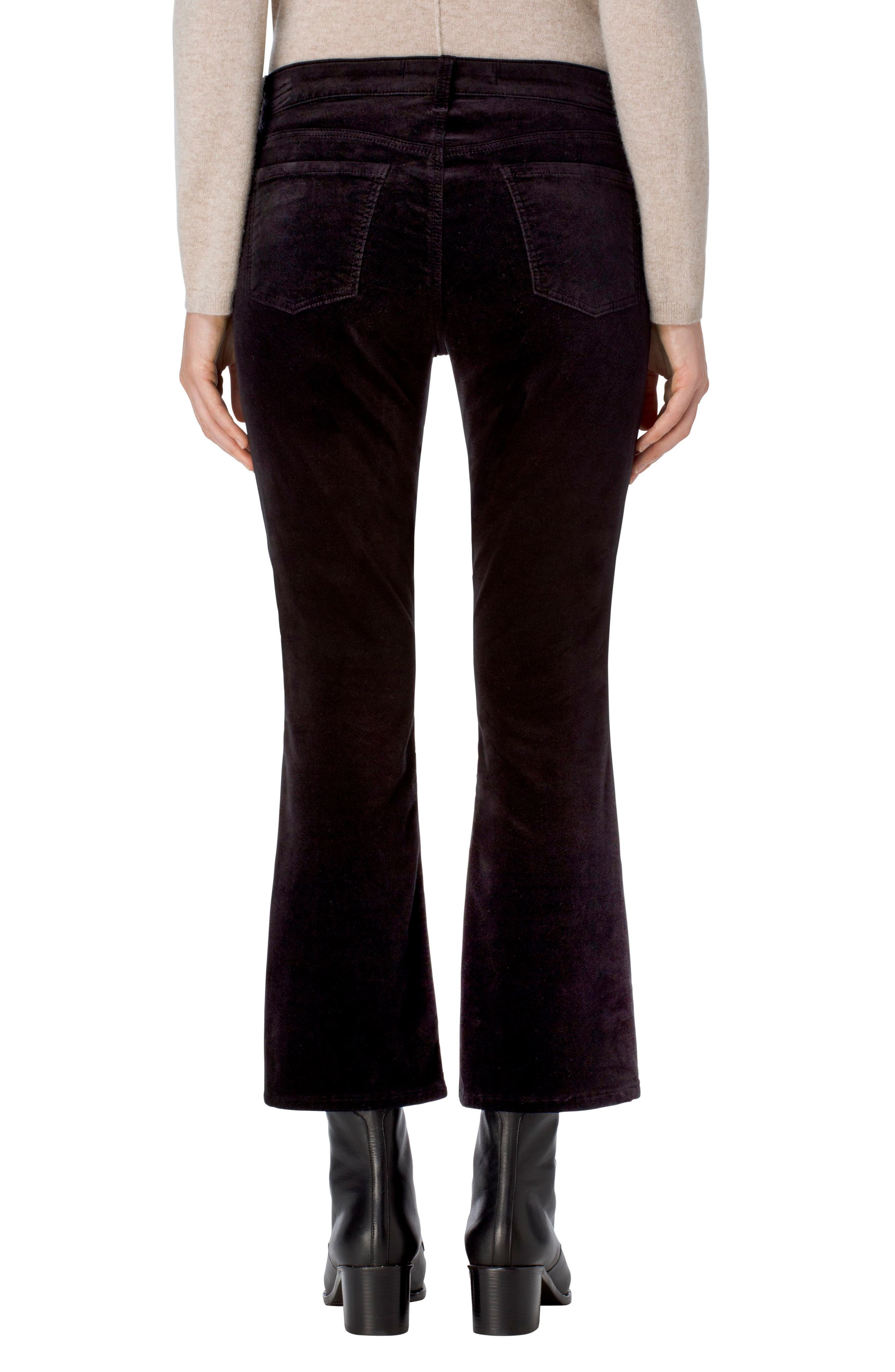 Selena Crop Bootcut Jeans,                             Alternate thumbnail 2, color,                             001