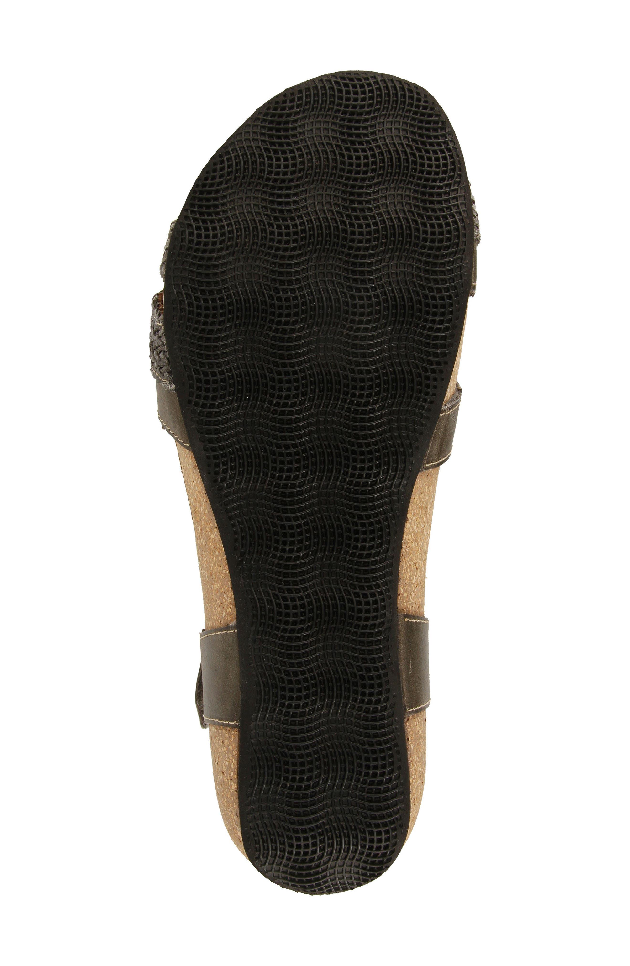 TAOS,                             'Trulie' Wedge Sandal,                             Alternate thumbnail 5, color,                             022
