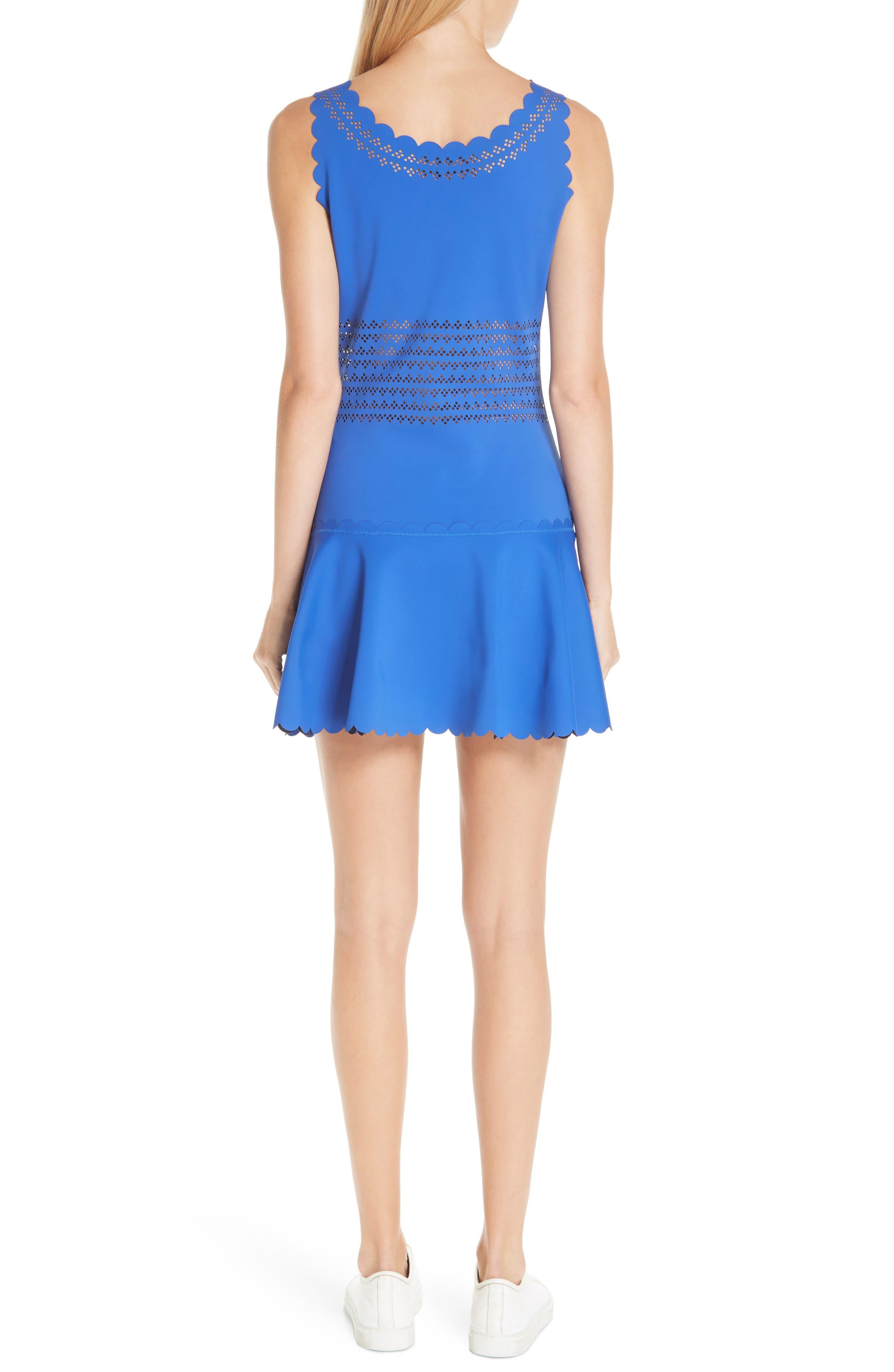 Center Court Tennis Dress,                             Alternate thumbnail 2, color,                             BLUE