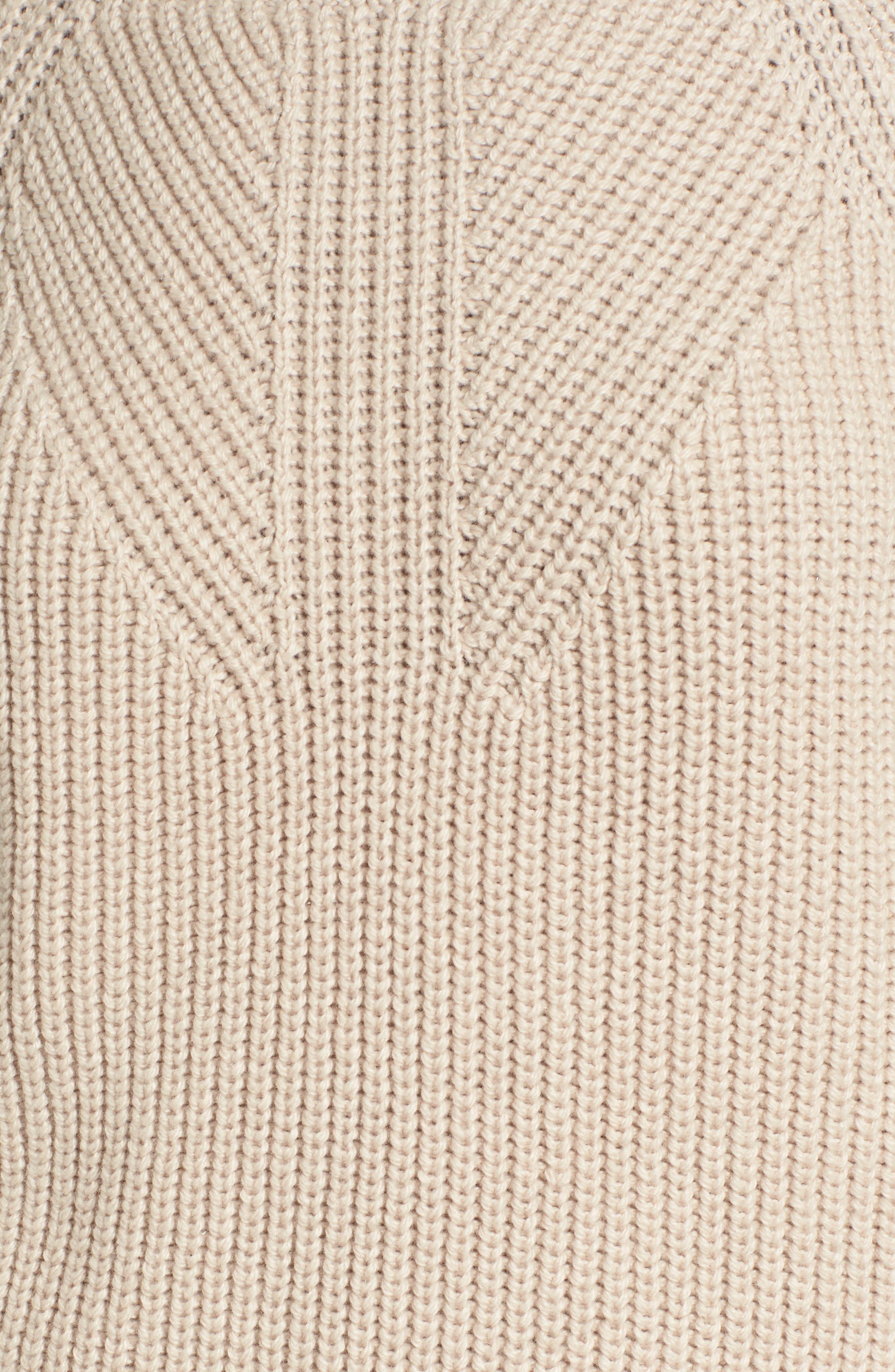 Shaker Stitch Sweater,                             Alternate thumbnail 5, color,                             270