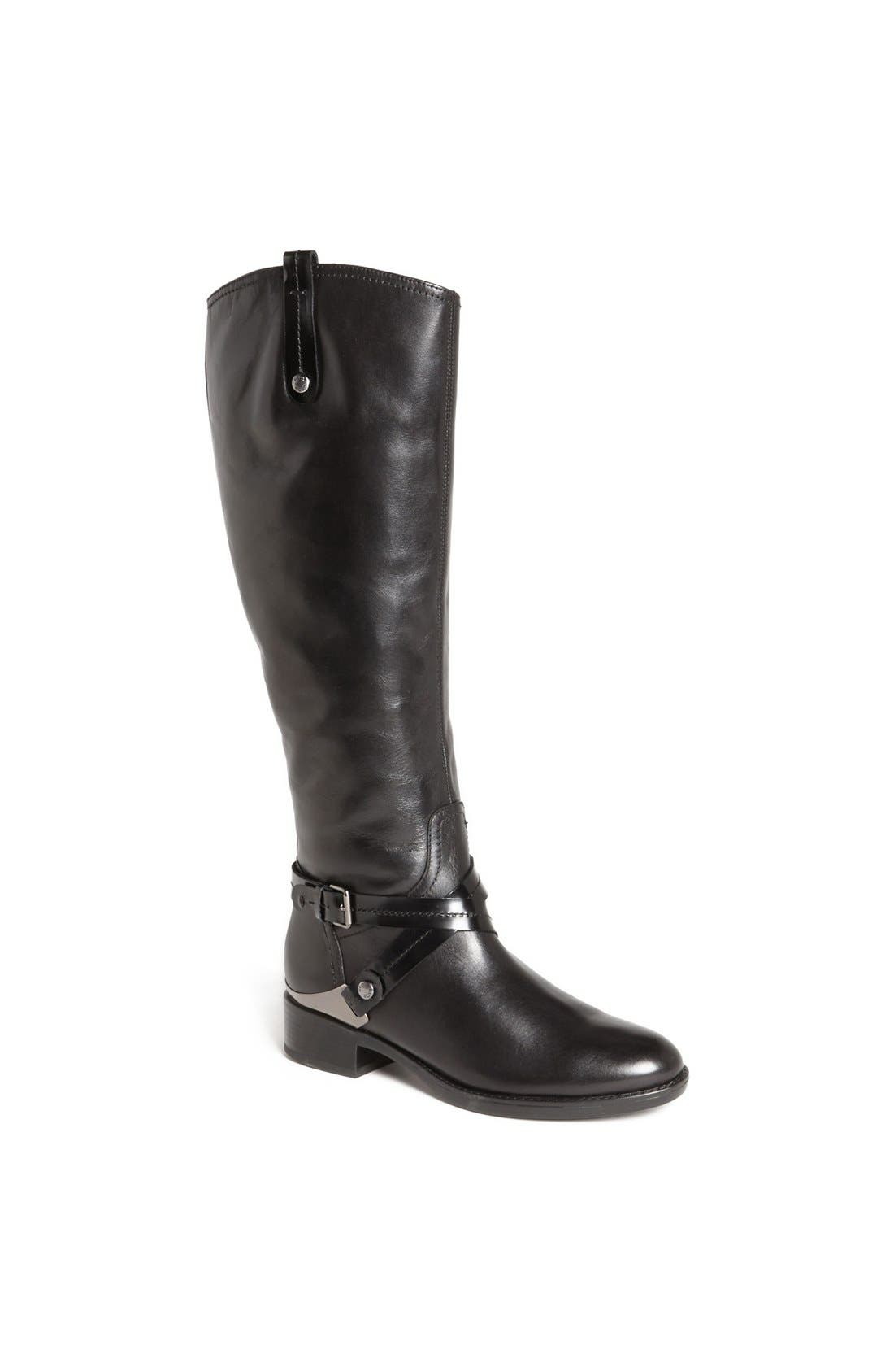 'Felicity' Tall Riding Boot,                             Main thumbnail 1, color,                             001