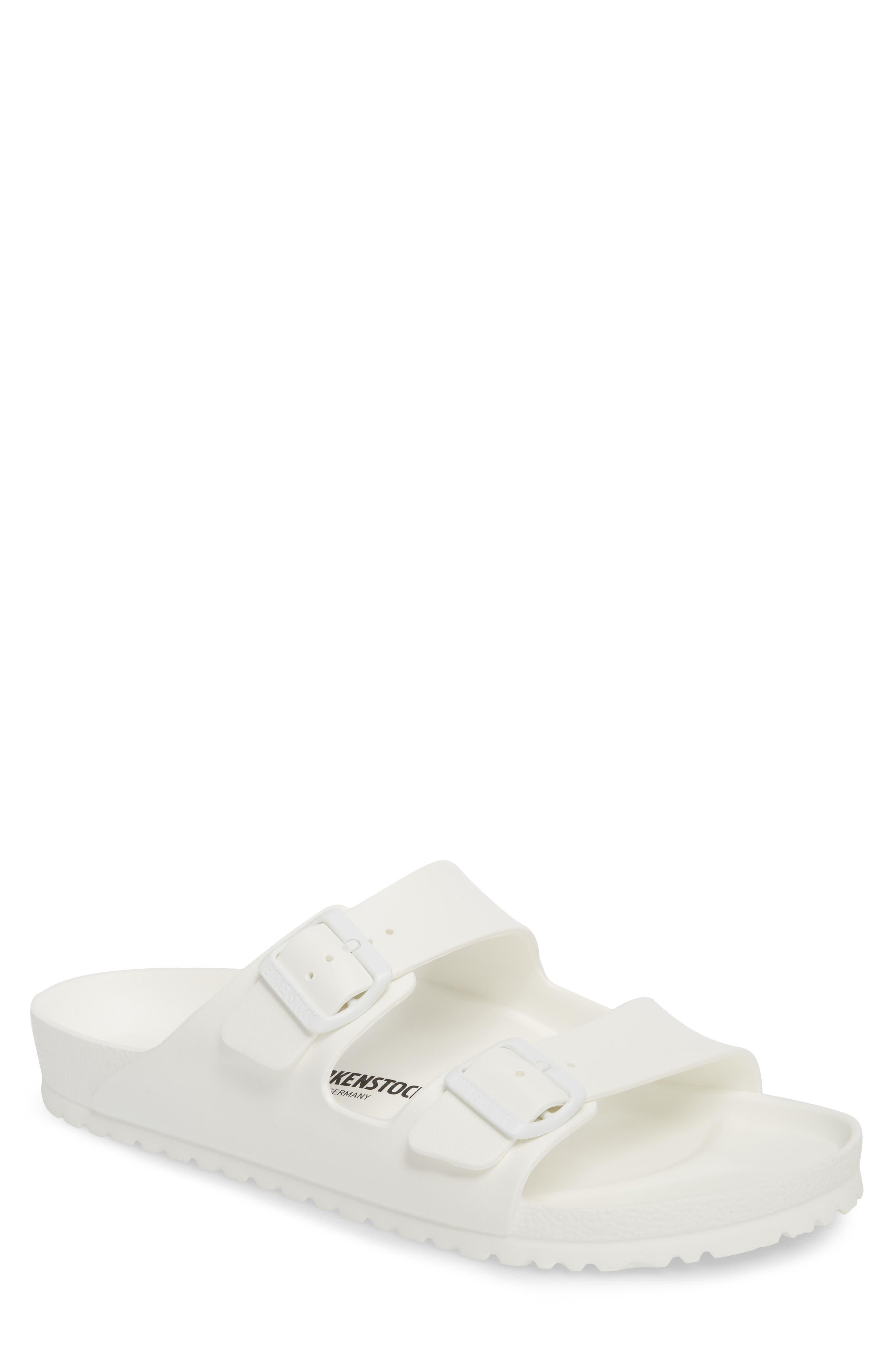 Birkenstock Essentials Arizona Eva Waterproof Slide Sandal,8.5 - White