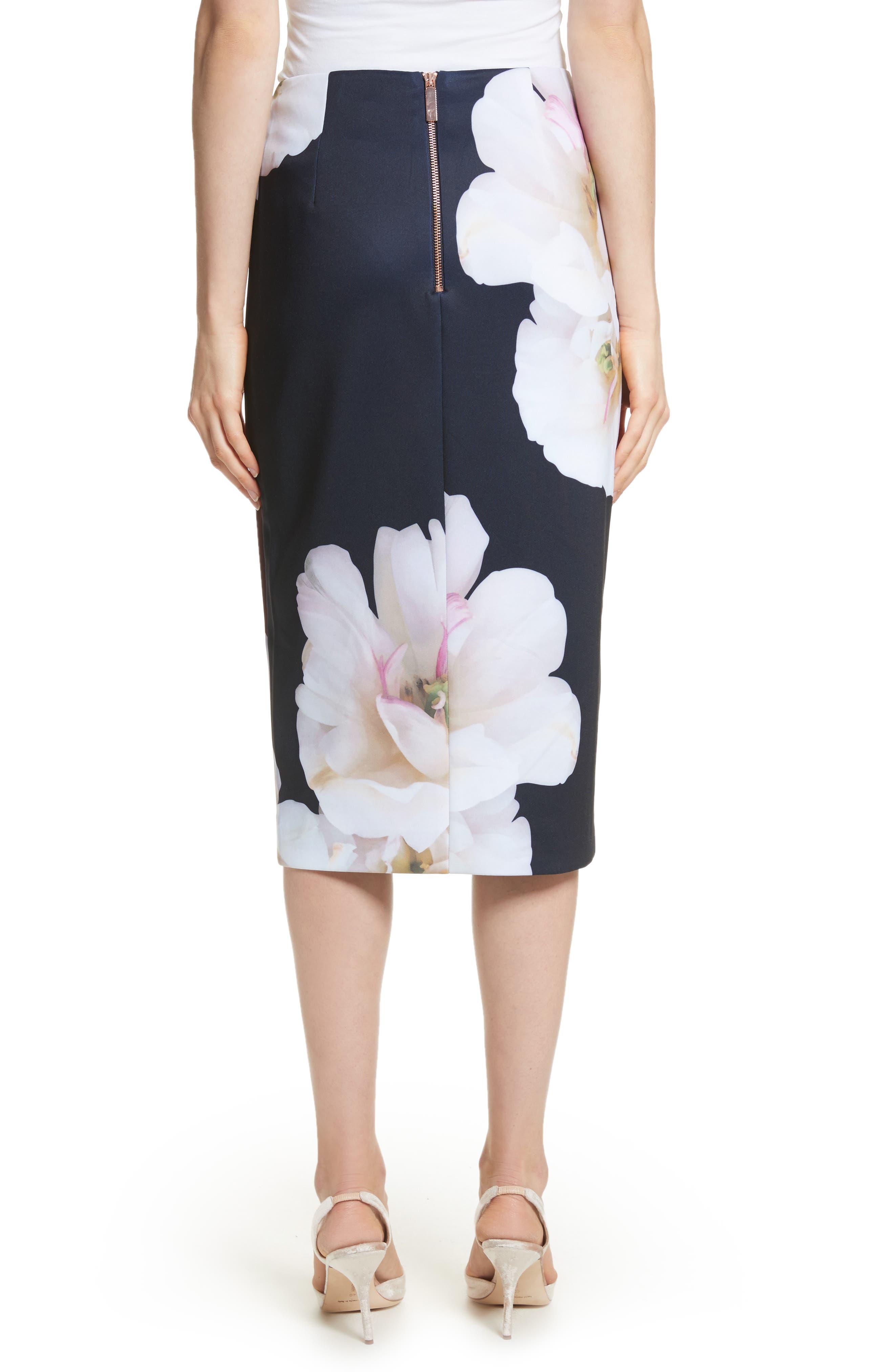 Gardenia Pencil Skirt,                             Alternate thumbnail 2, color,                             402