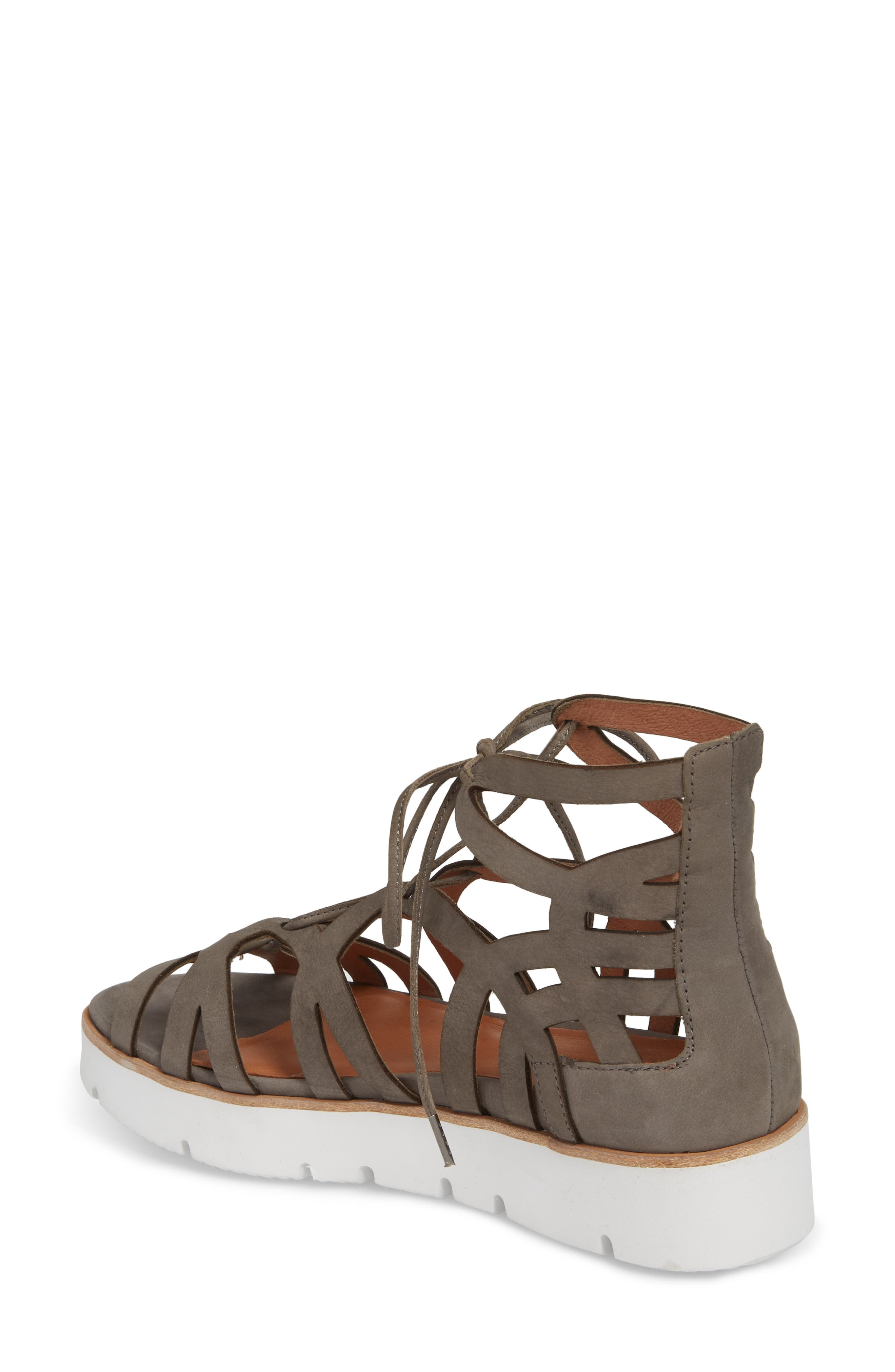 by Kenneth Cole Larina Lace-Up Sandal,                             Alternate thumbnail 5, color,