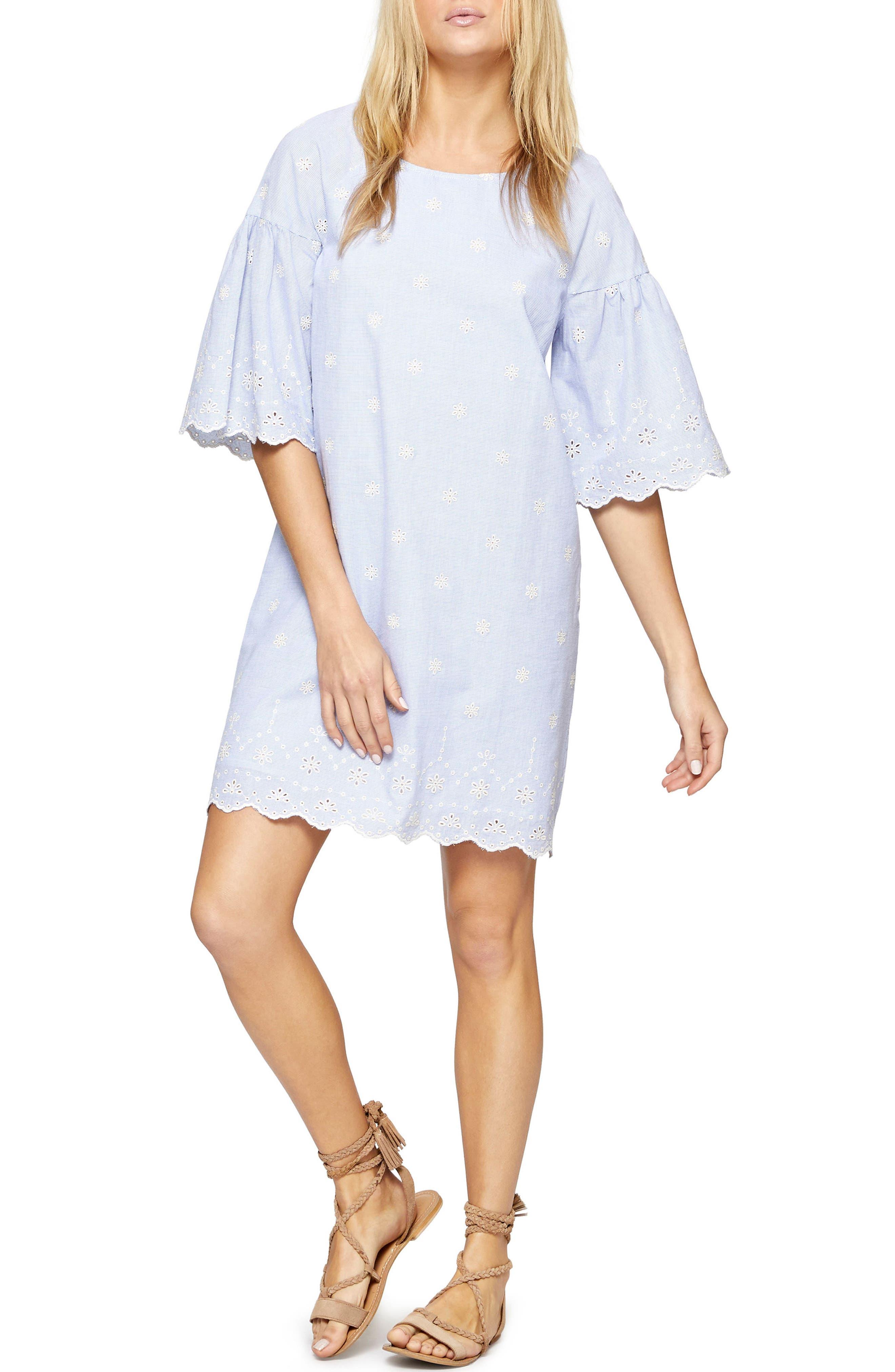 Bellflower Day Dress,                             Main thumbnail 1, color,                             496