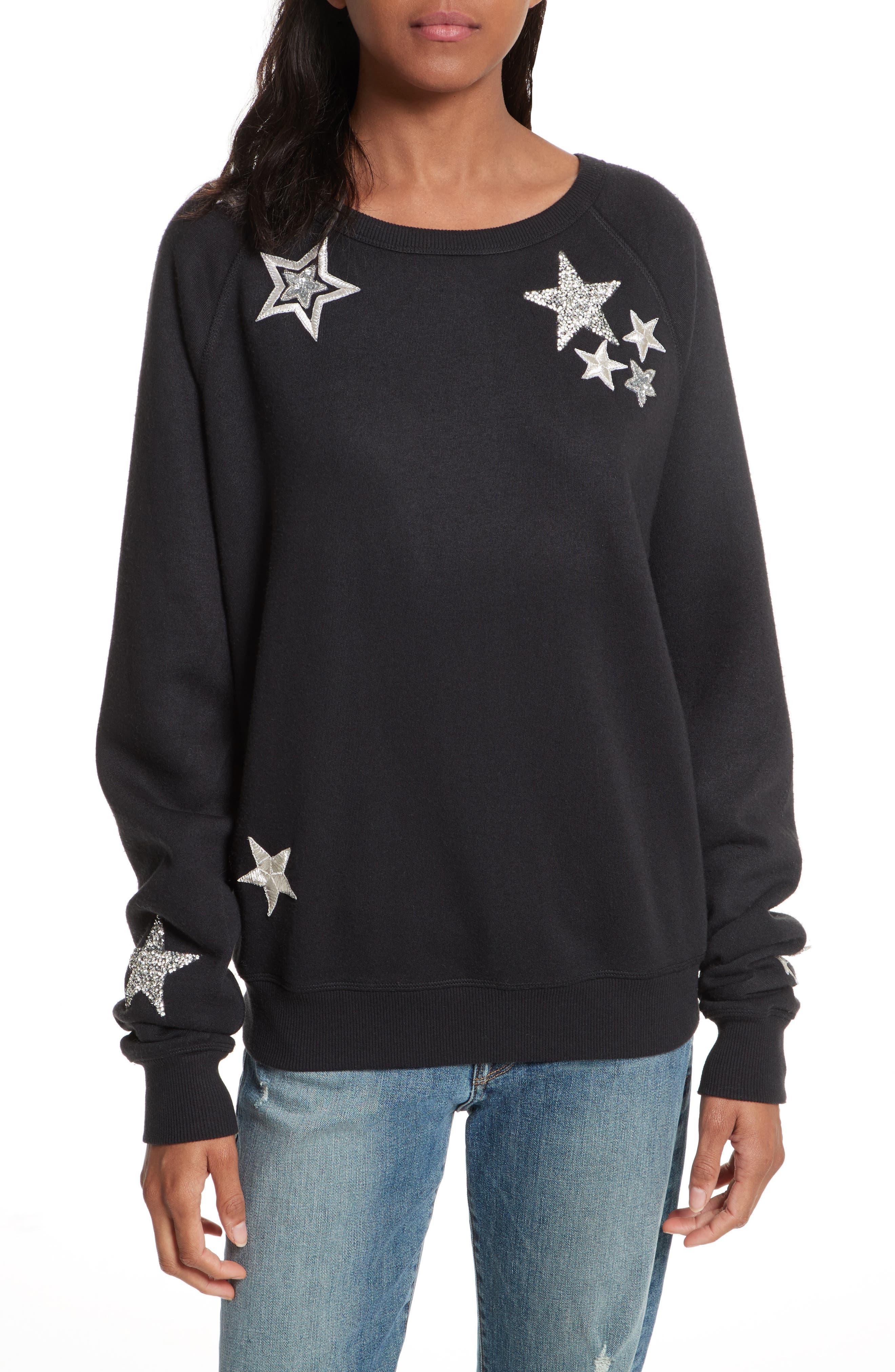 Graham Embellished Sweatshirt,                         Main,                         color, 001