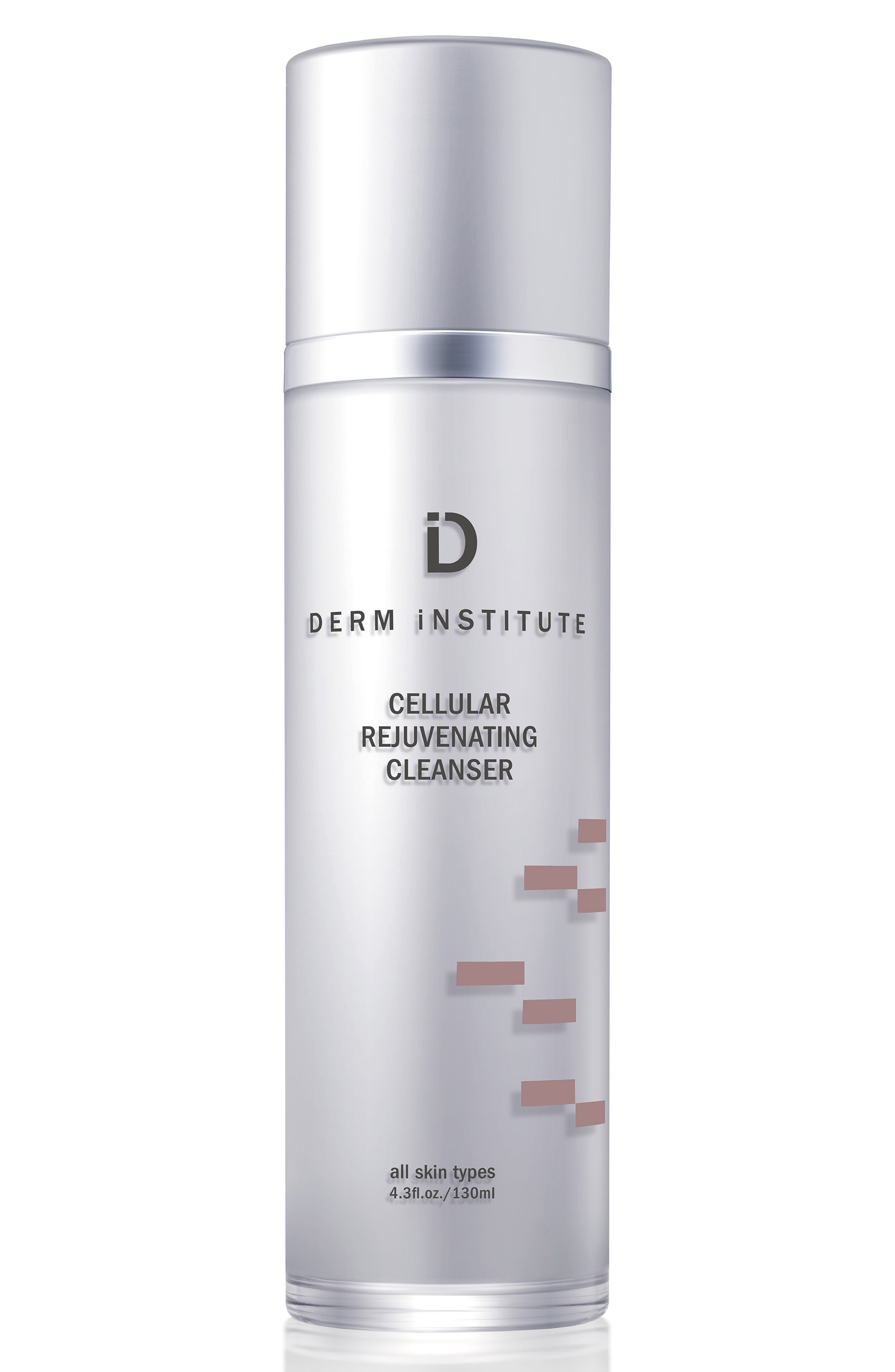 SPACE.NK.apothecary Derm Institute Cellular Rejuvenating Cleanser & Muslin Cloth,                             Main thumbnail 1, color,                             NO COLOR