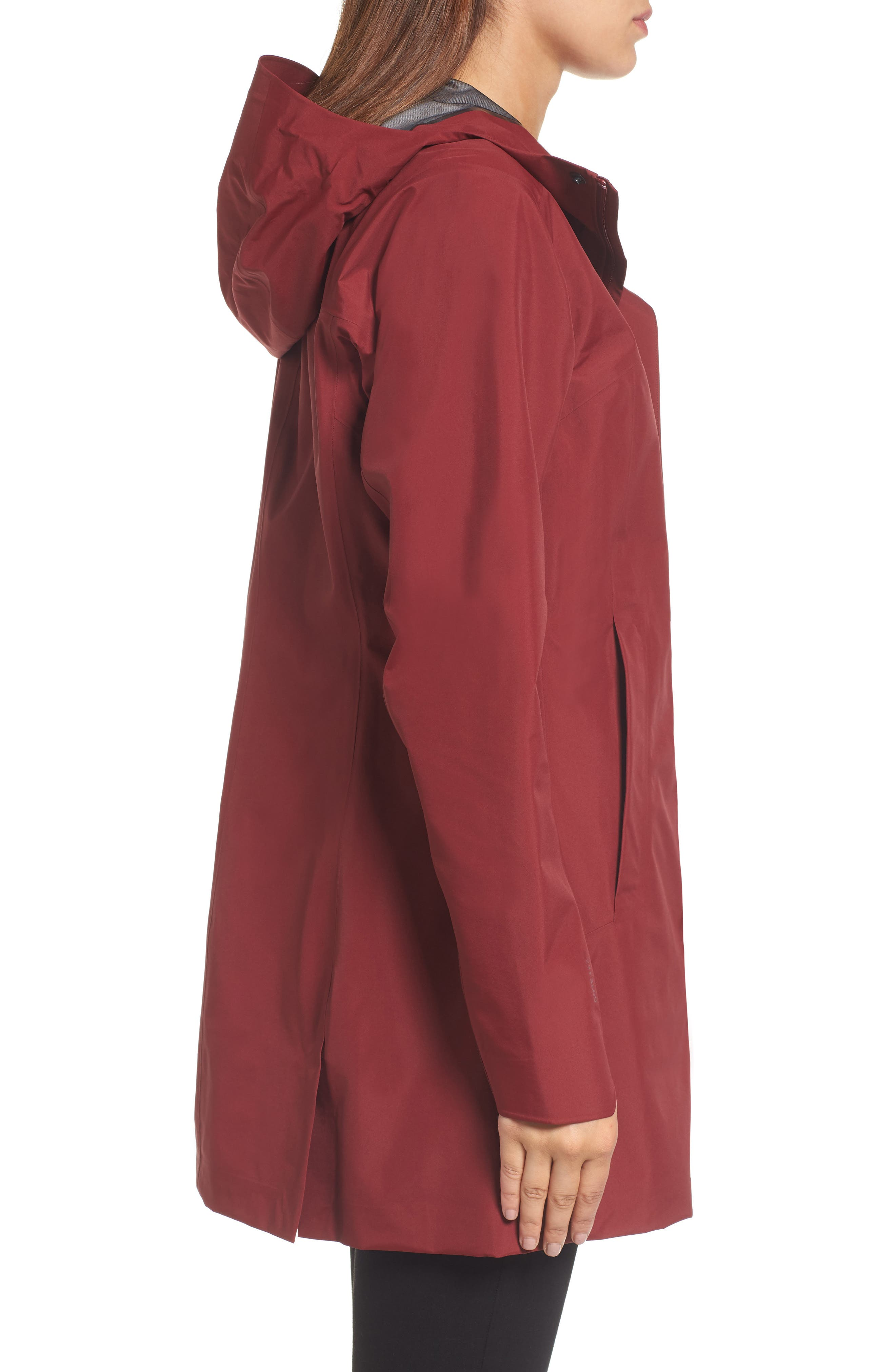 Codetta Waterproof Relaxed Fit Gore-Tex<sup>®</sup> 3L Rain Jacket,                             Alternate thumbnail 7, color,
