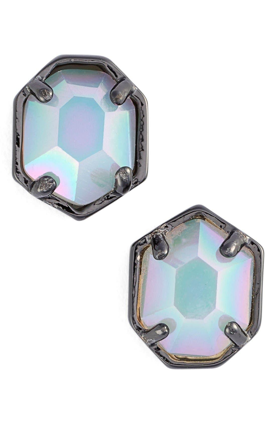 'Logan' Stud Earrings,                             Main thumbnail 8, color,
