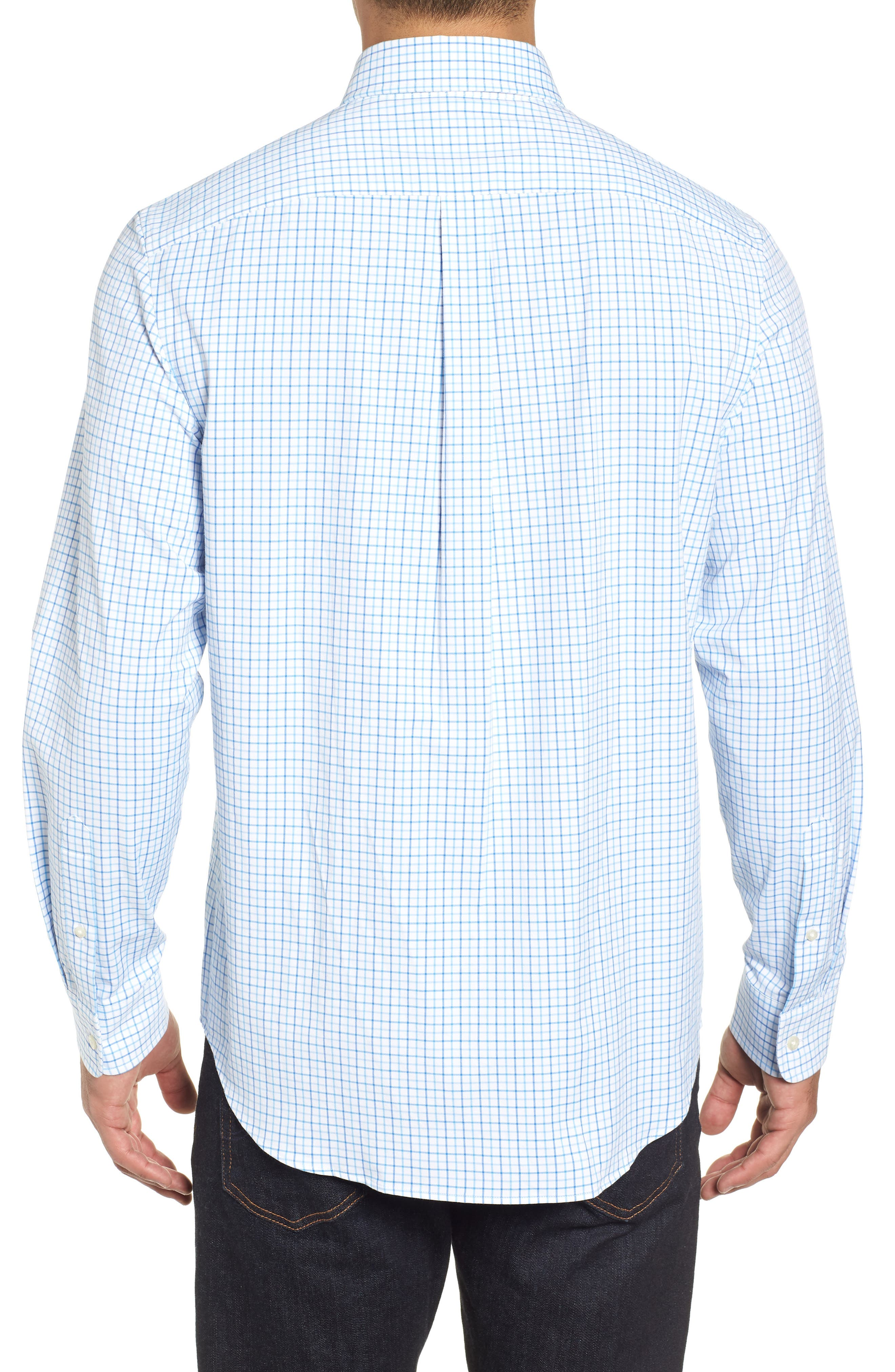 Pepperbush Regular Fit Plaid Sport Shirt,                             Alternate thumbnail 3, color,                             427