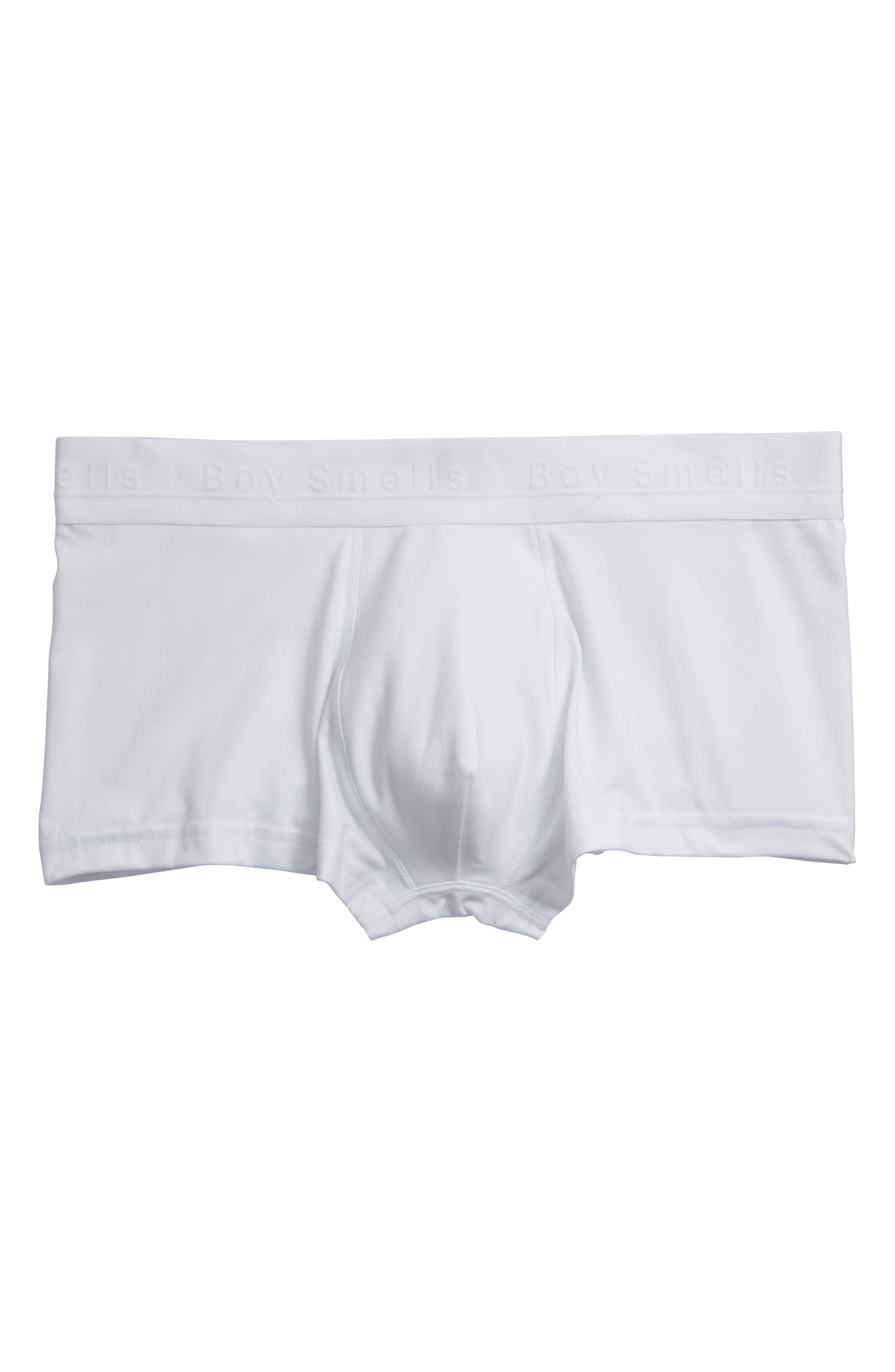 Men's Boxer Briefs,                         Main,                         color, WHITE