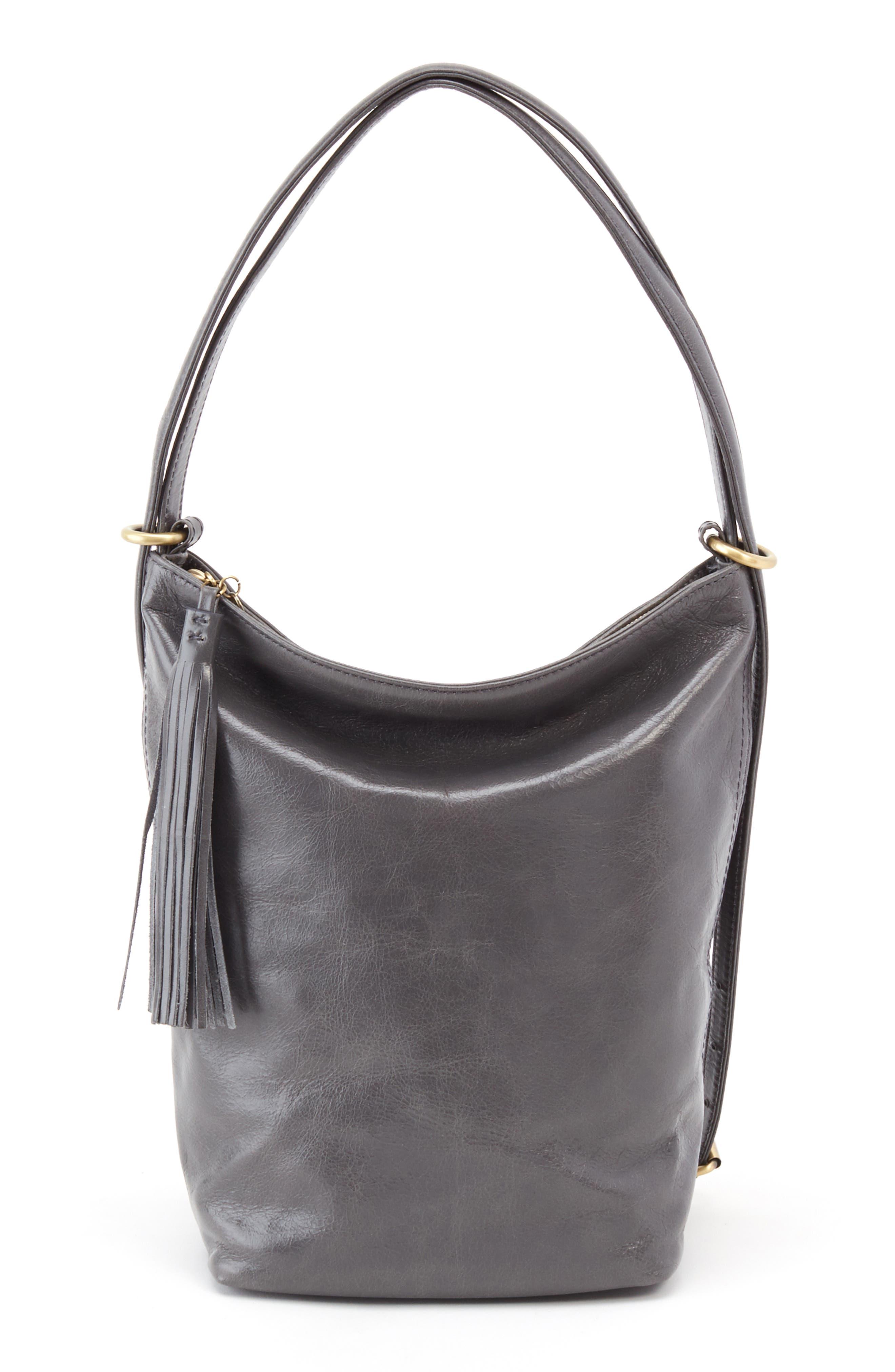 Blaze Convertible Shoulder Bag,                             Alternate thumbnail 3, color,                             GRAPHITE