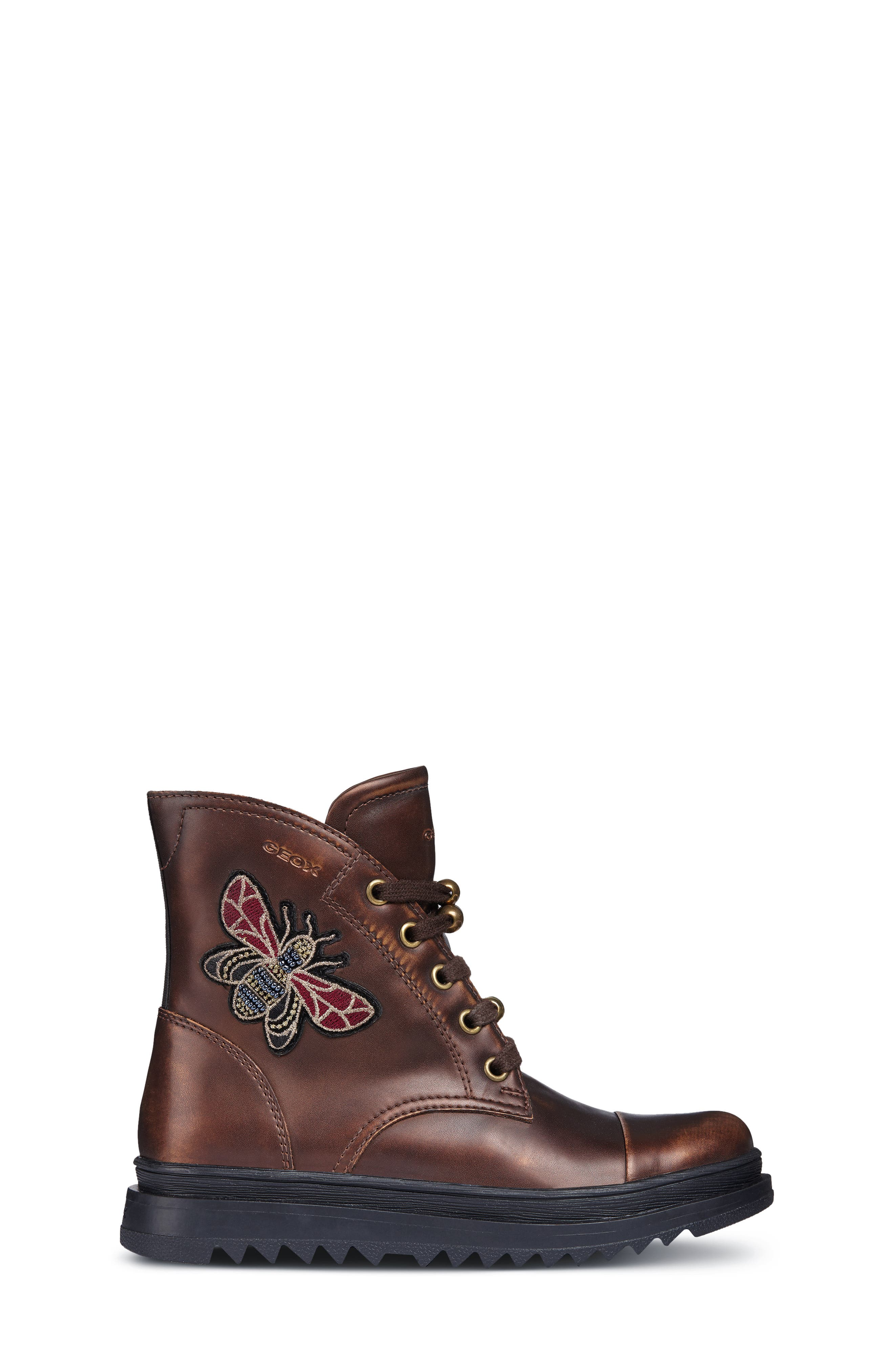 Gilly Jaw 2 Lace-Up Boot,                             Alternate thumbnail 3, color,                             BRONZE