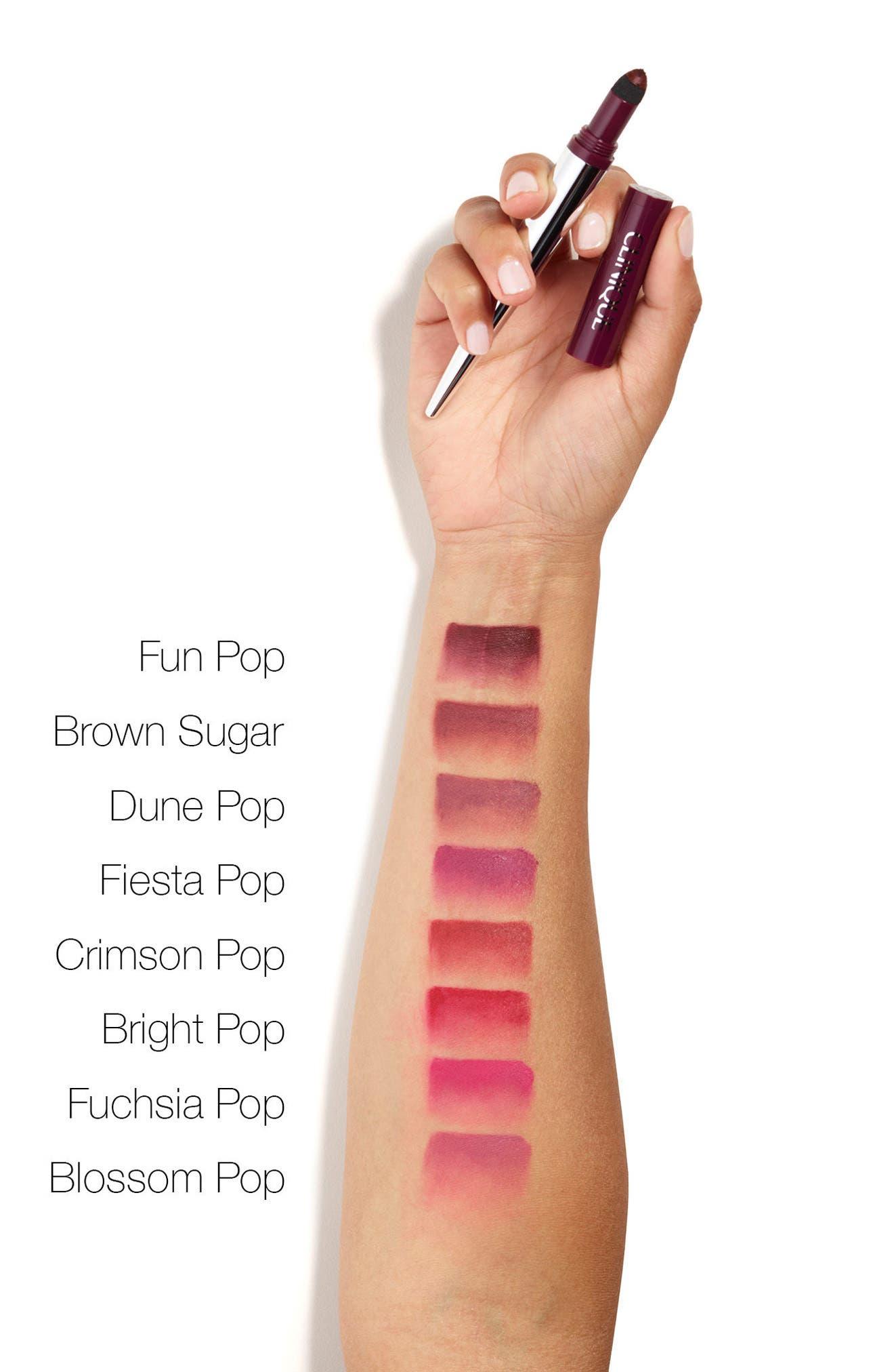 Pop Lip Shadow Cushion Matte Lip Powder,                             Alternate thumbnail 2, color,                             BROWN SUGAR POP
