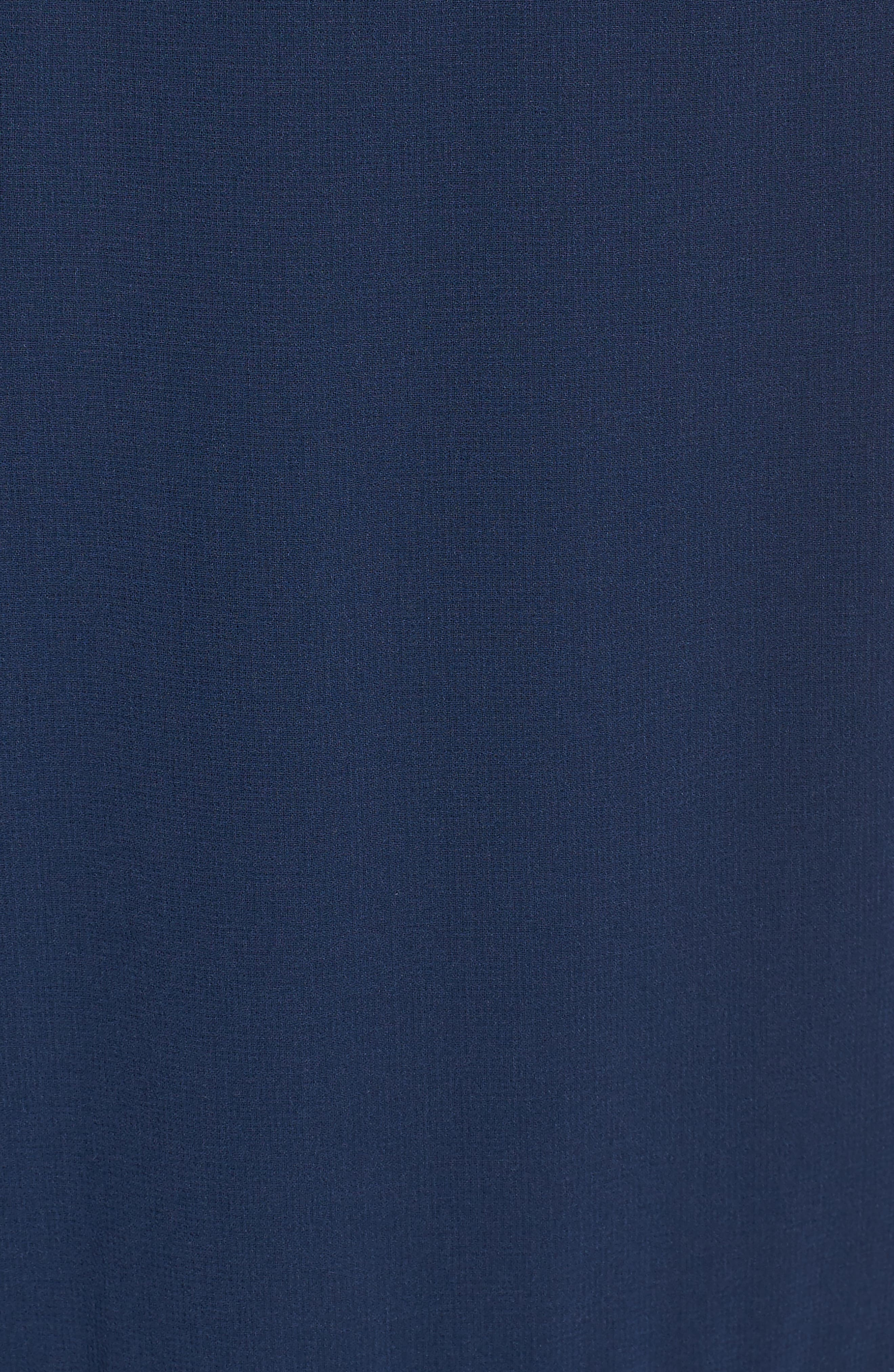 Utopia Cold Shoulder Midi Dress,                             Alternate thumbnail 5, color,                             435