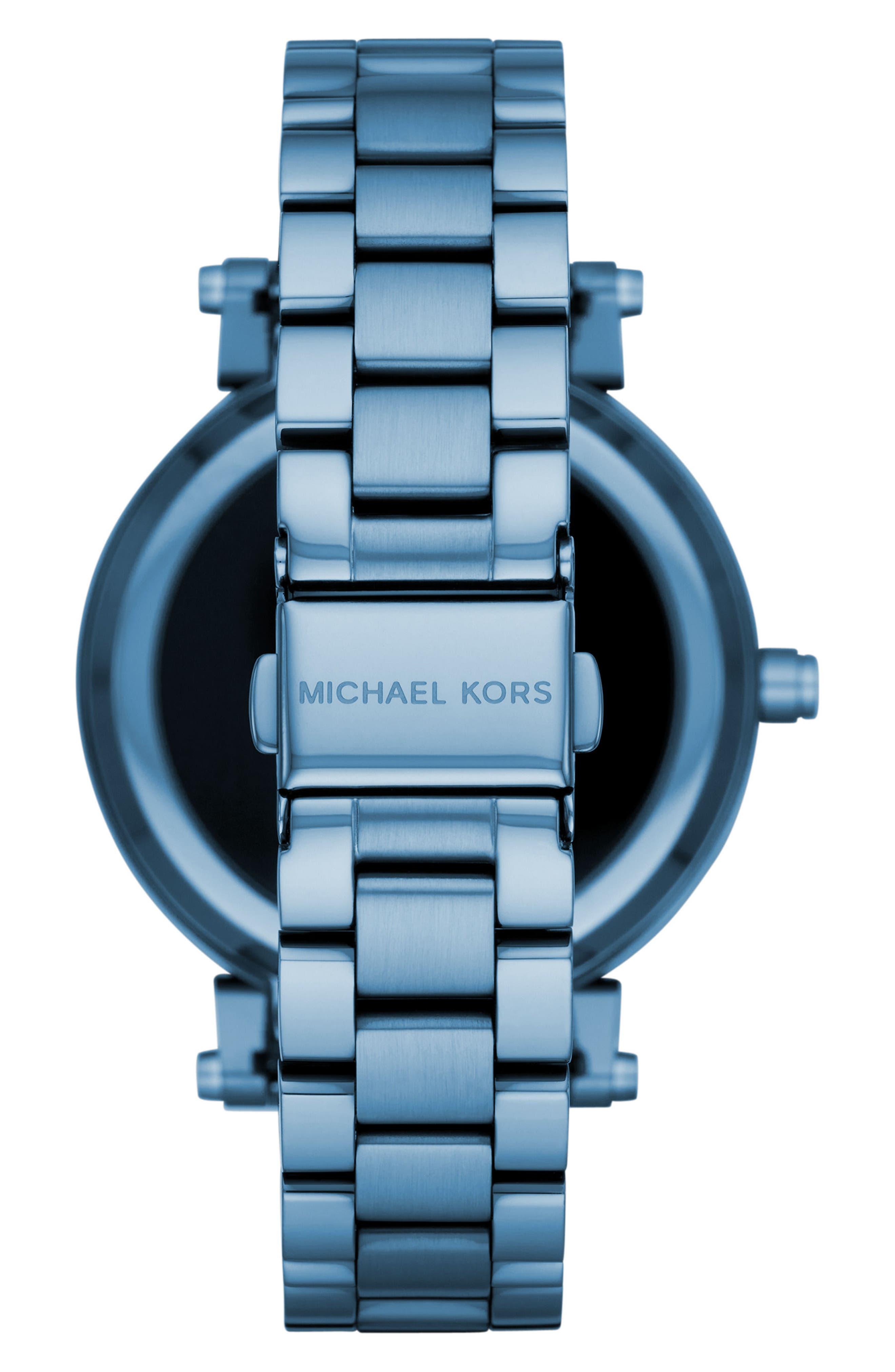 Sofie Touchscreen Bracelet Smart Watch, 42mm,                             Alternate thumbnail 2, color,                             400
