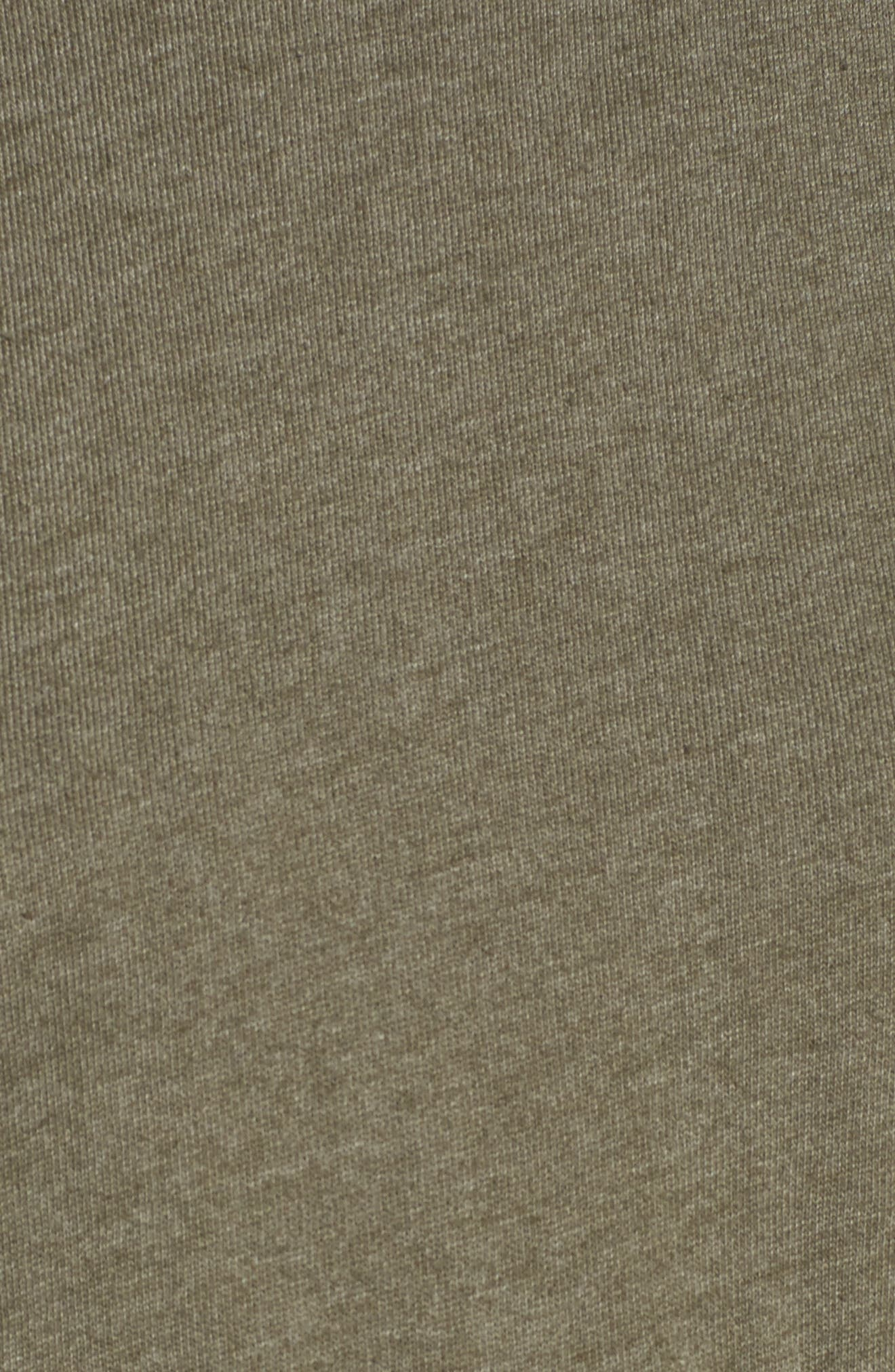 Viera Fleece Peplum Sweatshirt,                             Alternate thumbnail 10, color,