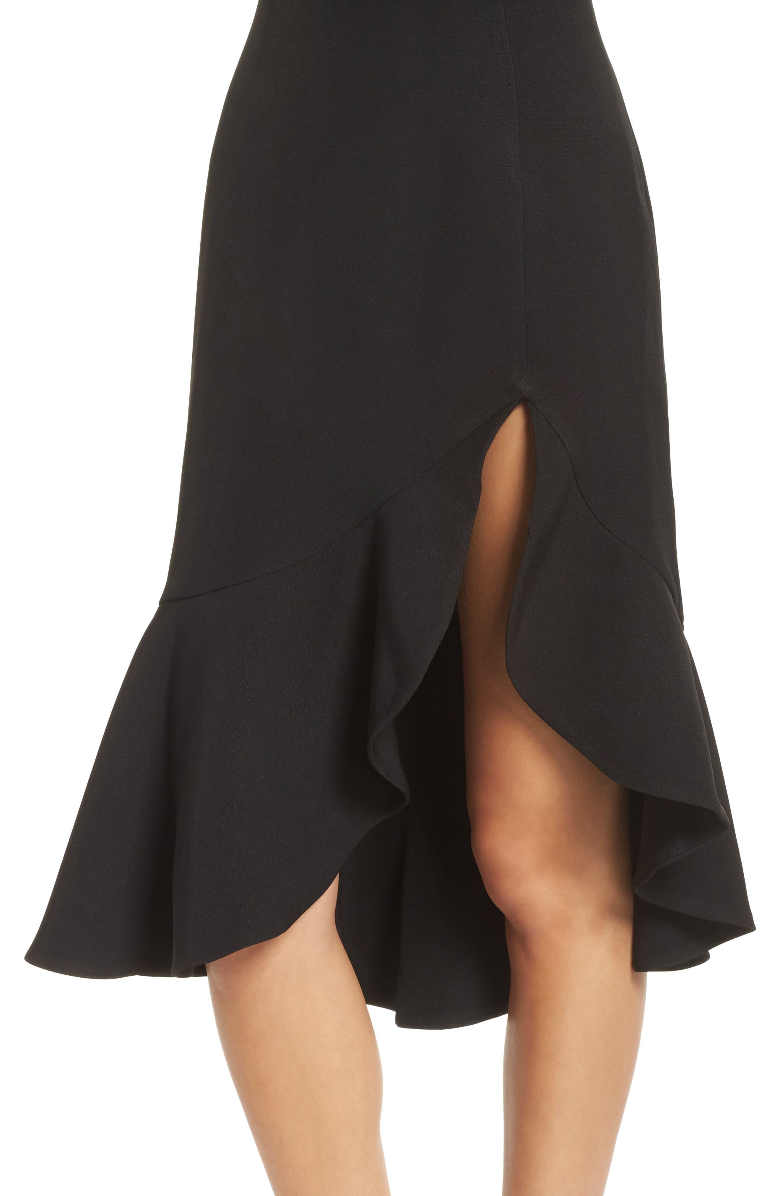 KEEPSAKE THE LABEL,                             Mirrors One-Shoulder Asymmetrical Dress,                             Alternate thumbnail 5, color,                             001