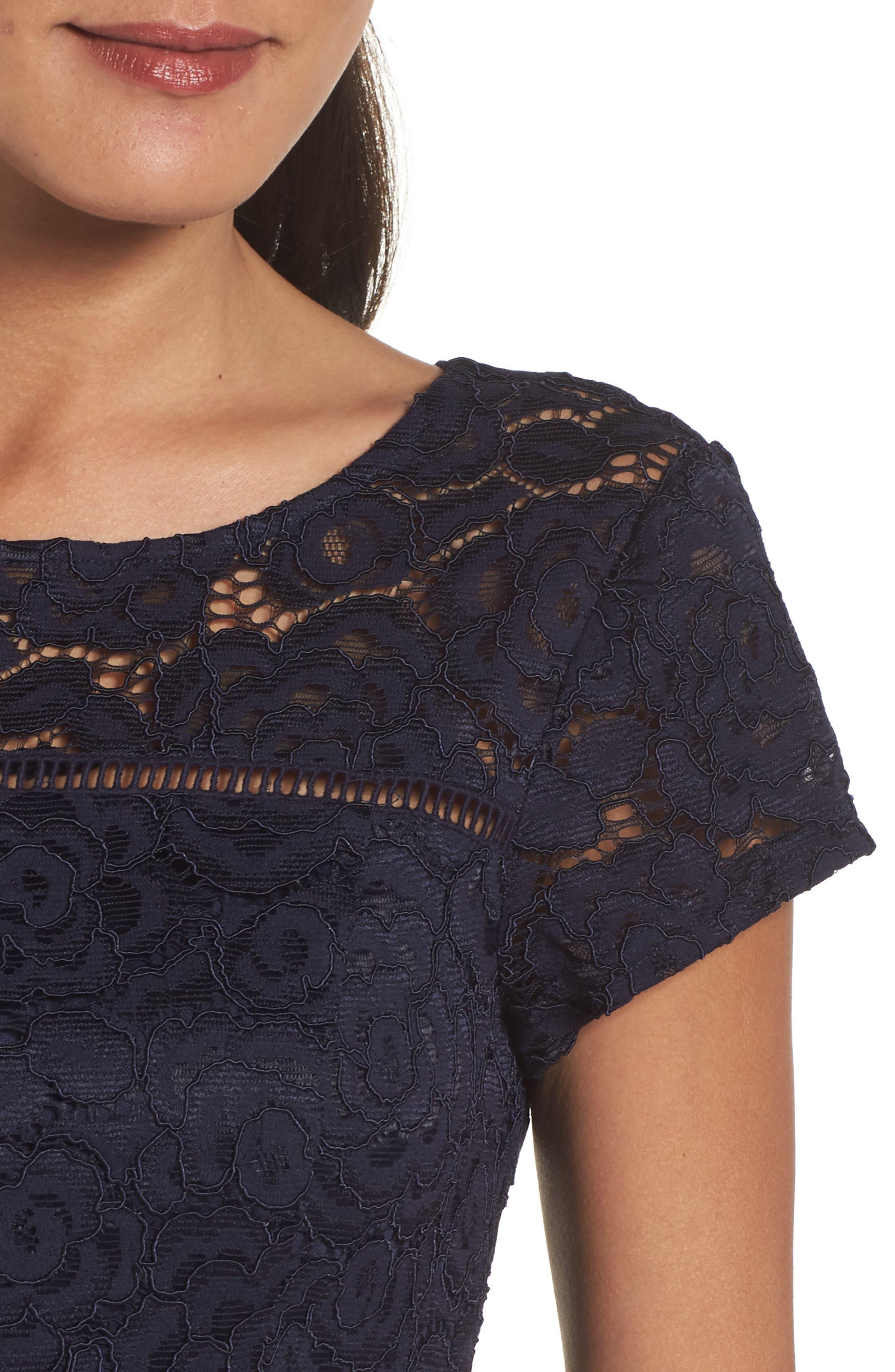 Lace Dress,                             Alternate thumbnail 4, color,                             410