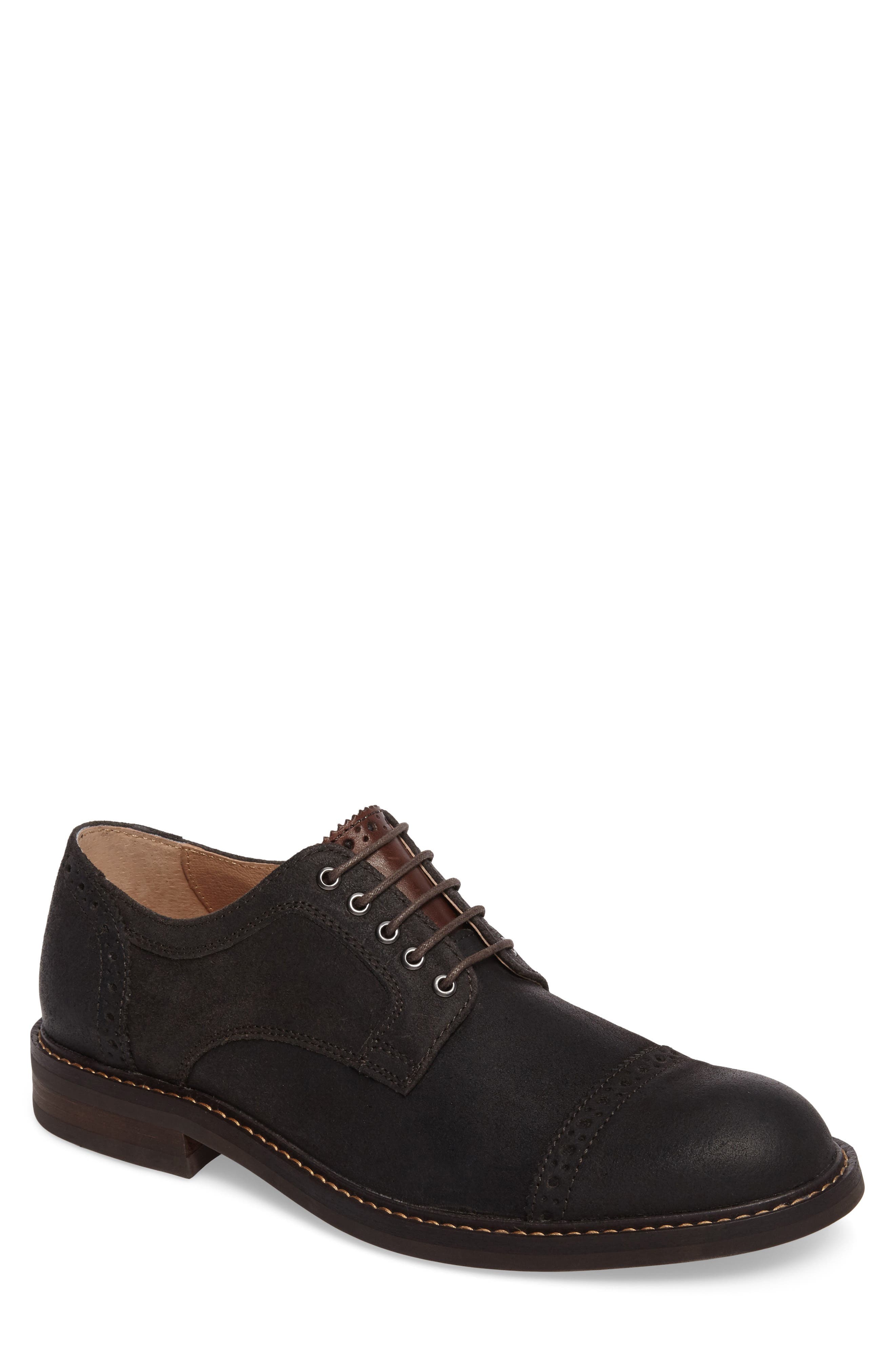 Wakefield Cap Toe Derby,                             Main thumbnail 1, color,