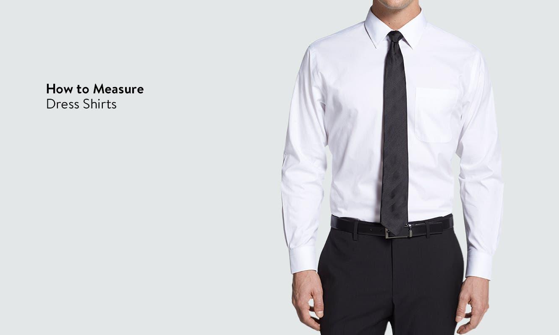 dress shirt mens size guide