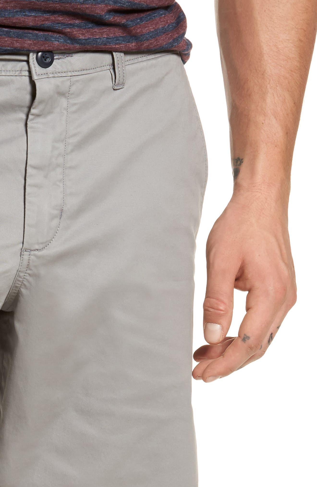 Ballard Slim Fit Stretch Chino 11-Inch Shorts,                             Alternate thumbnail 52, color,