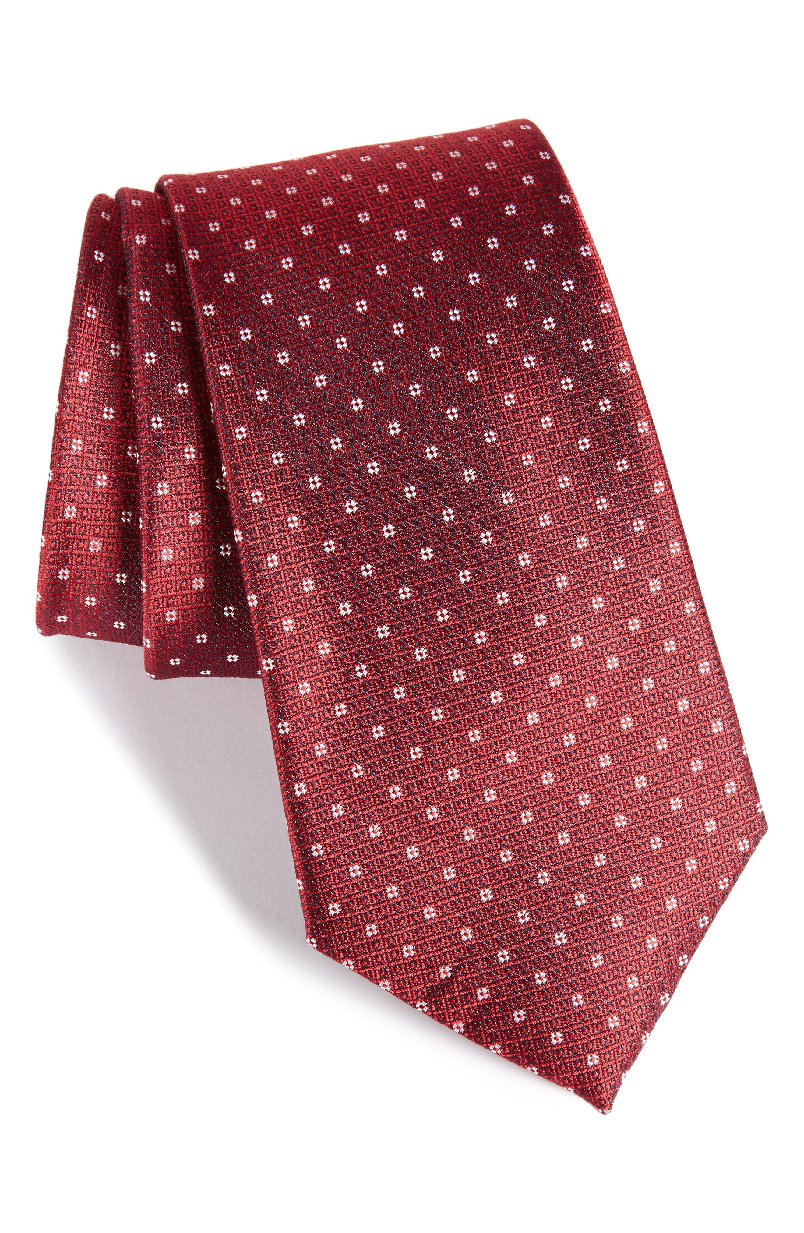Denson Neat Silk Tie,                             Main thumbnail 6, color,
