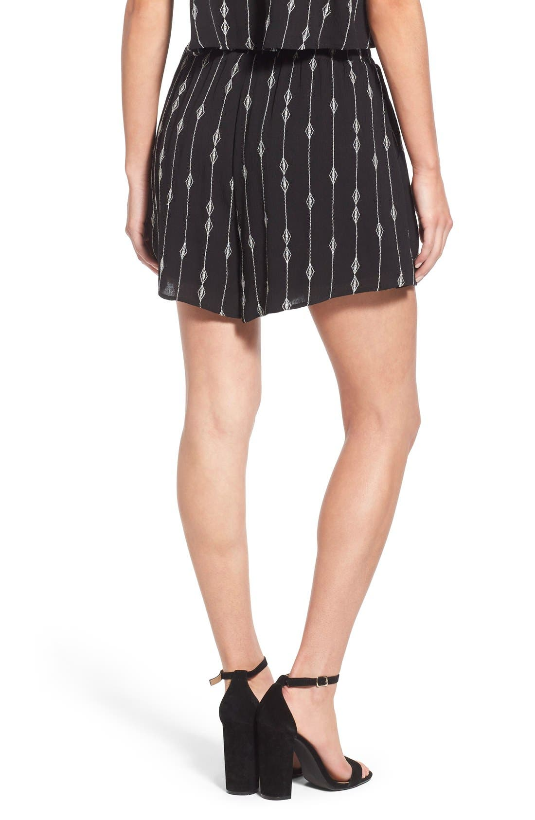 Embroidered Woven Shorts,                             Alternate thumbnail 5, color,                             001