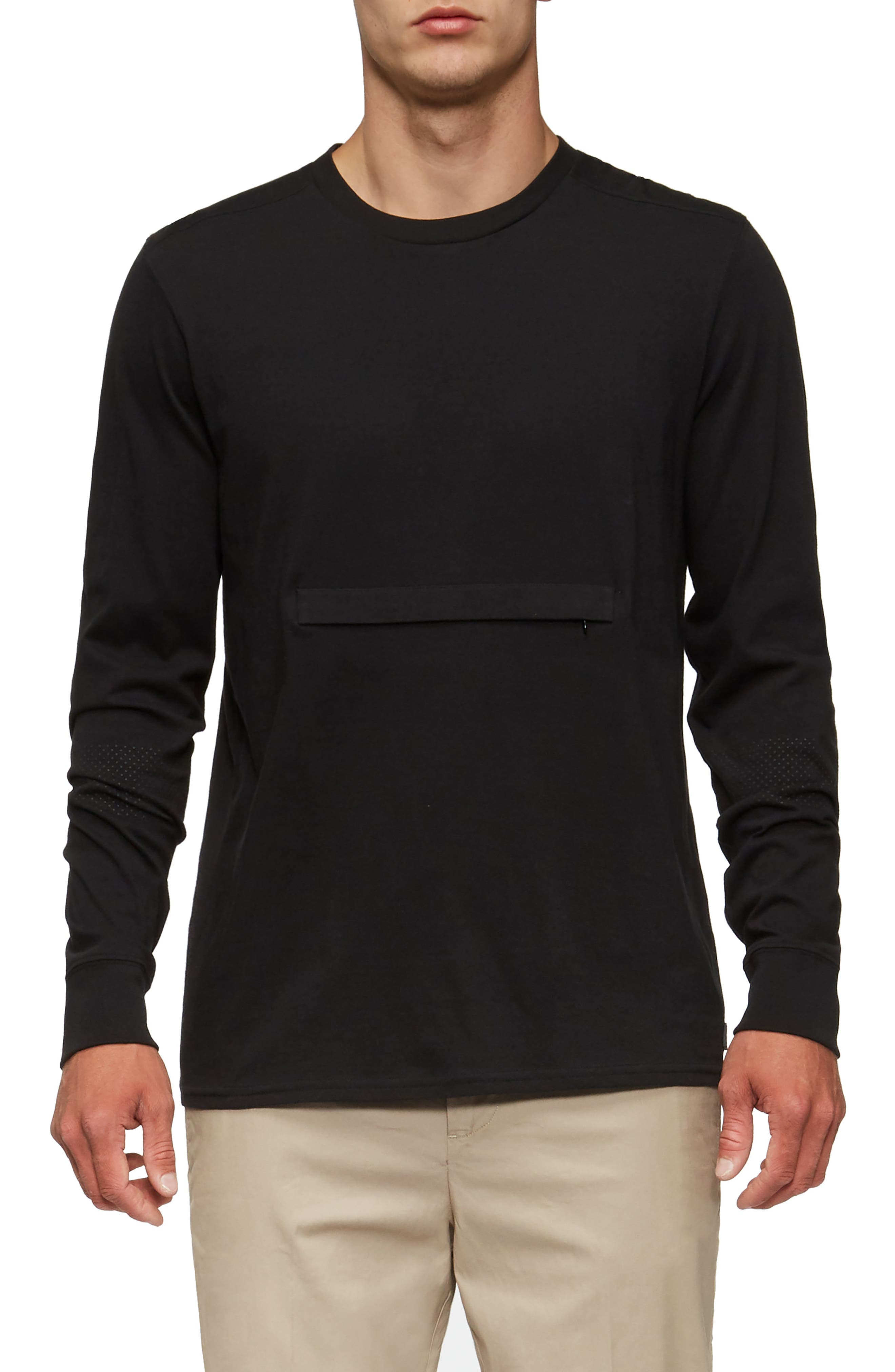 Lowell Long Sleeve T-Shirt,                             Main thumbnail 1, color,                             001