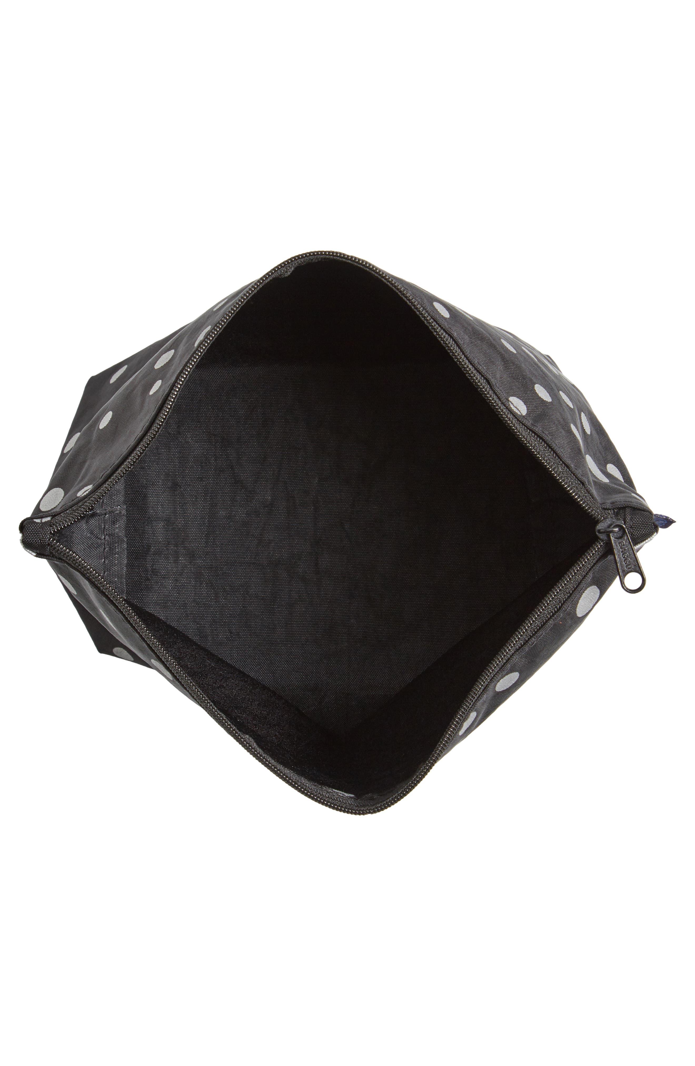 Medium Carry All Nylon Pouch,                             Alternate thumbnail 3, color,                             002