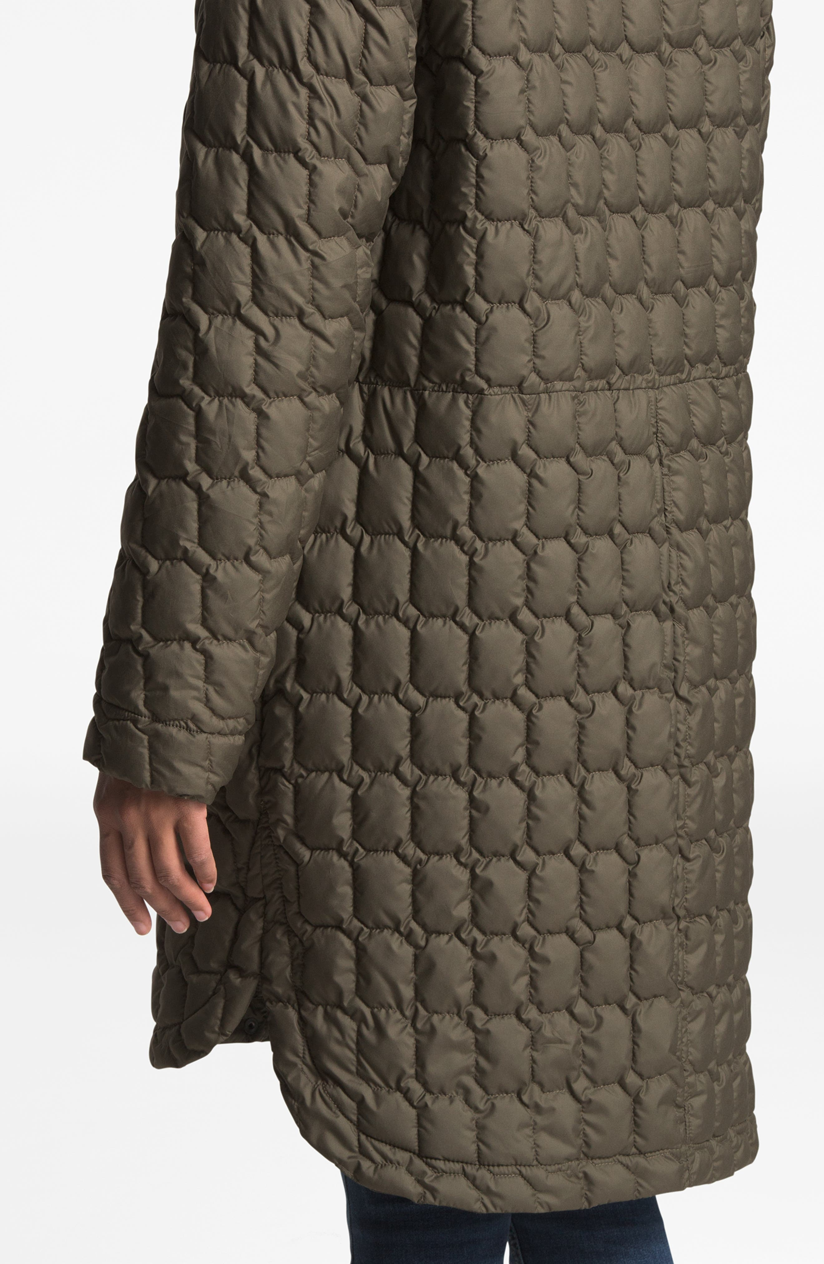 Thermoball<sup>™</sup> Water Resistant Duster Jacket,                             Alternate thumbnail 9, color,                             NEW TAUPE GREEN